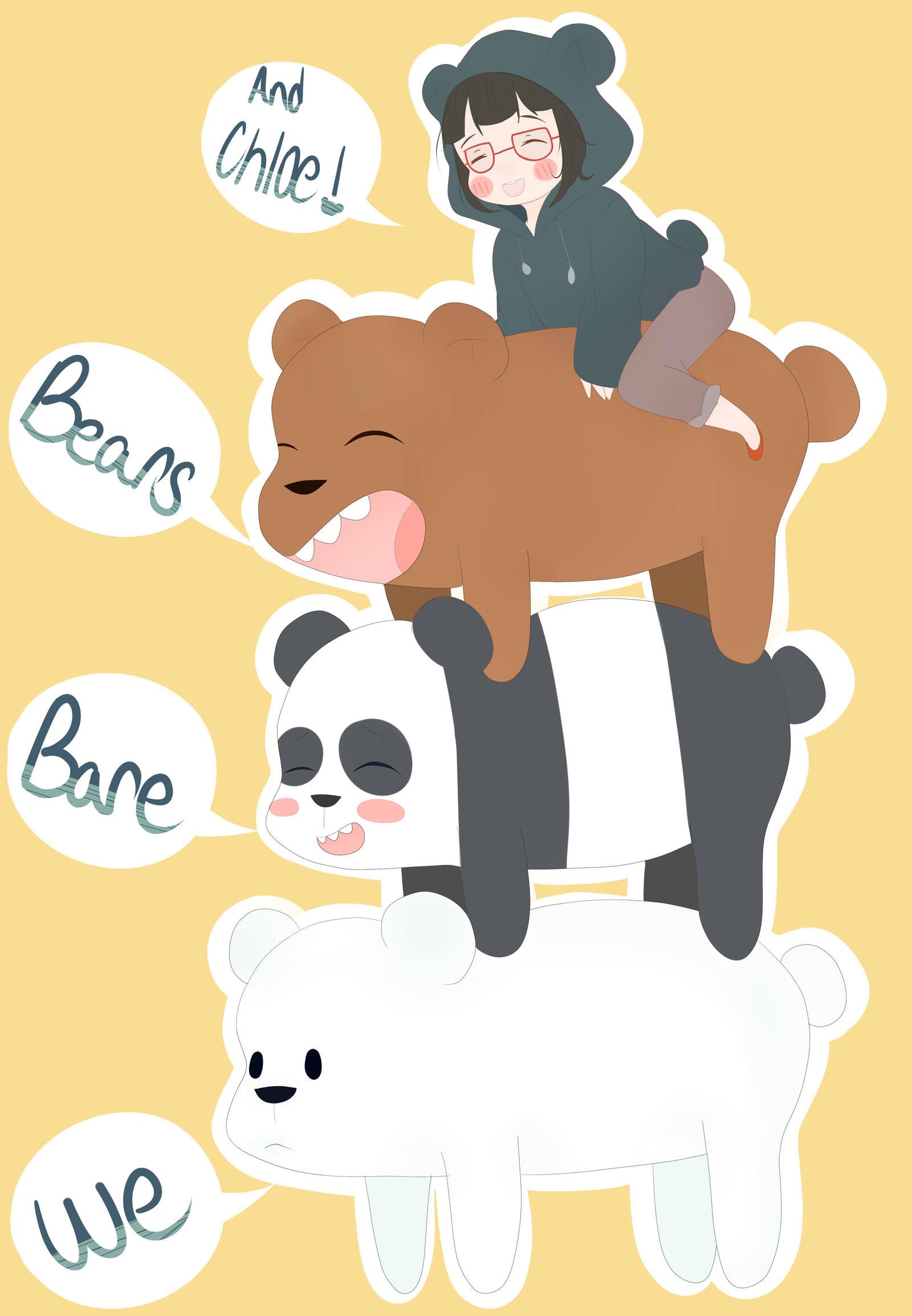 "We Bare Bears – Grizzly ""Grizz"", Panda, Ice Bear, …"