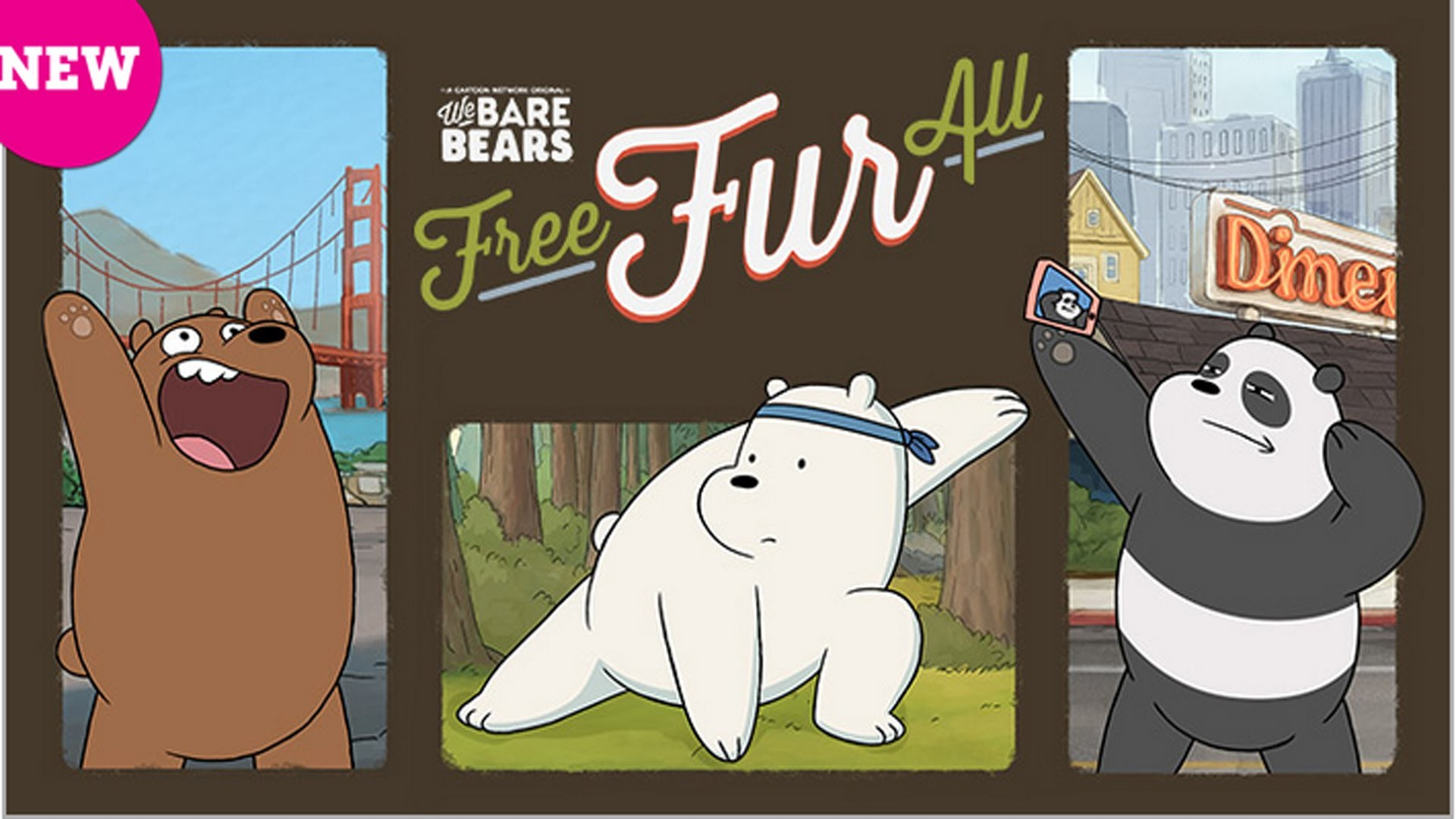 Ice Bear Rules All! | Free Fur All | We Bare Bears Cartoon Network Games