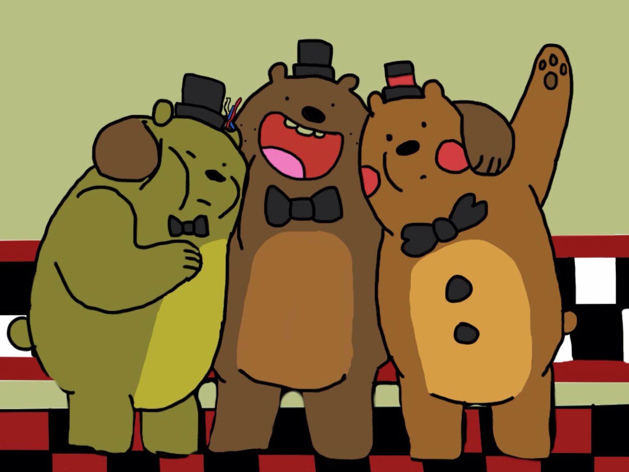 We Bare Bears Fnaf by RainillaXOX We Bare Bears Fnaf by RainillaXOX