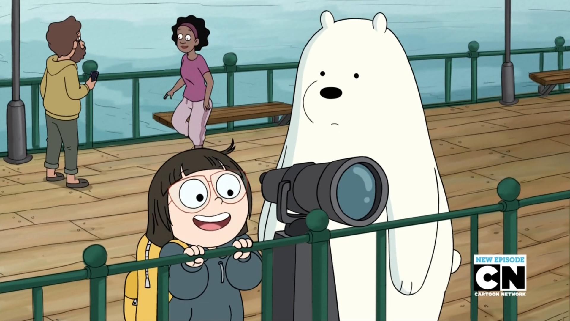 Image – Chloe and Ice Bear 061.png | We Bare Bears Wiki | FANDOM powered by  Wikia