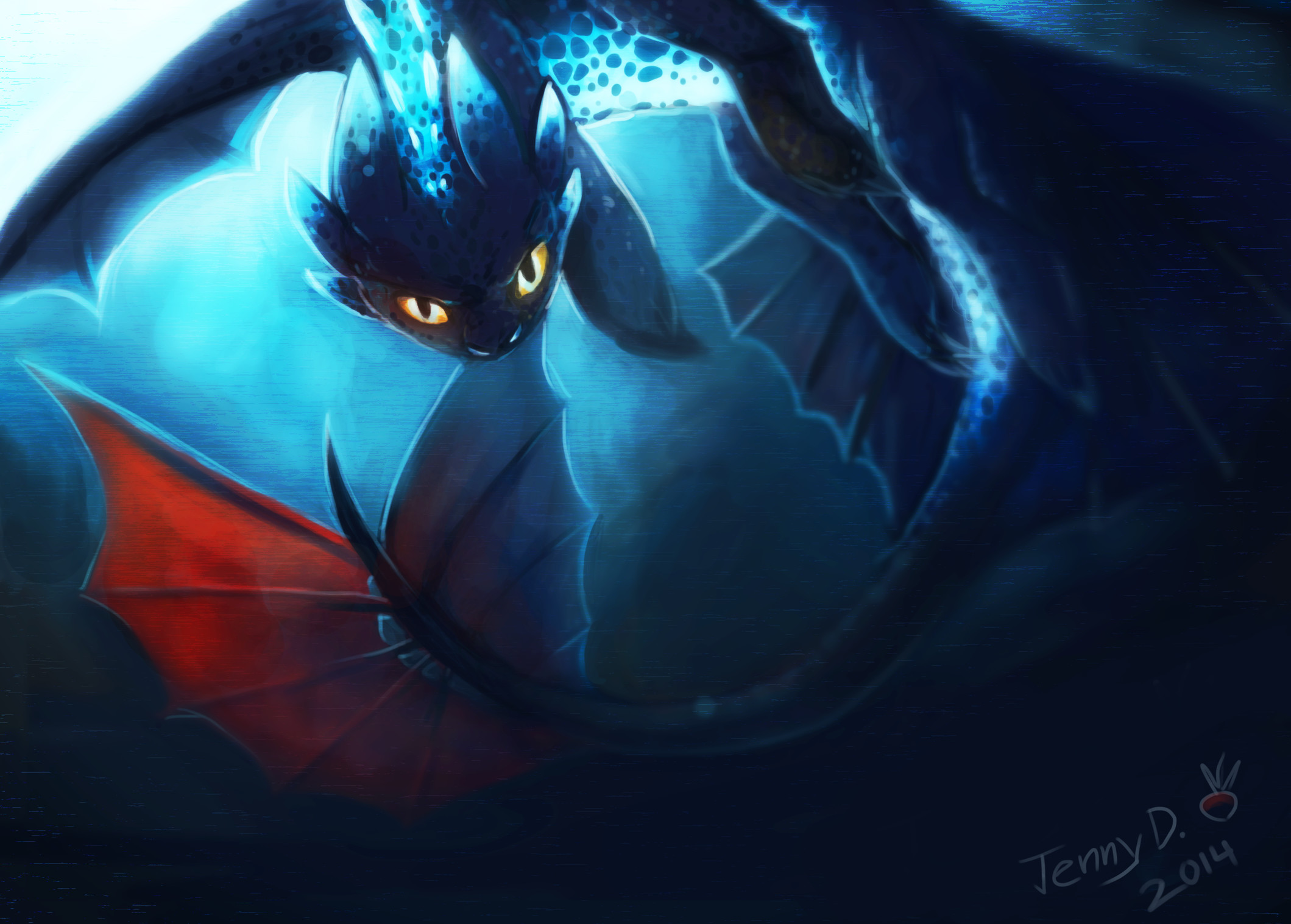 4k Ultra Toothless And Stitch Full HD Wallpapers