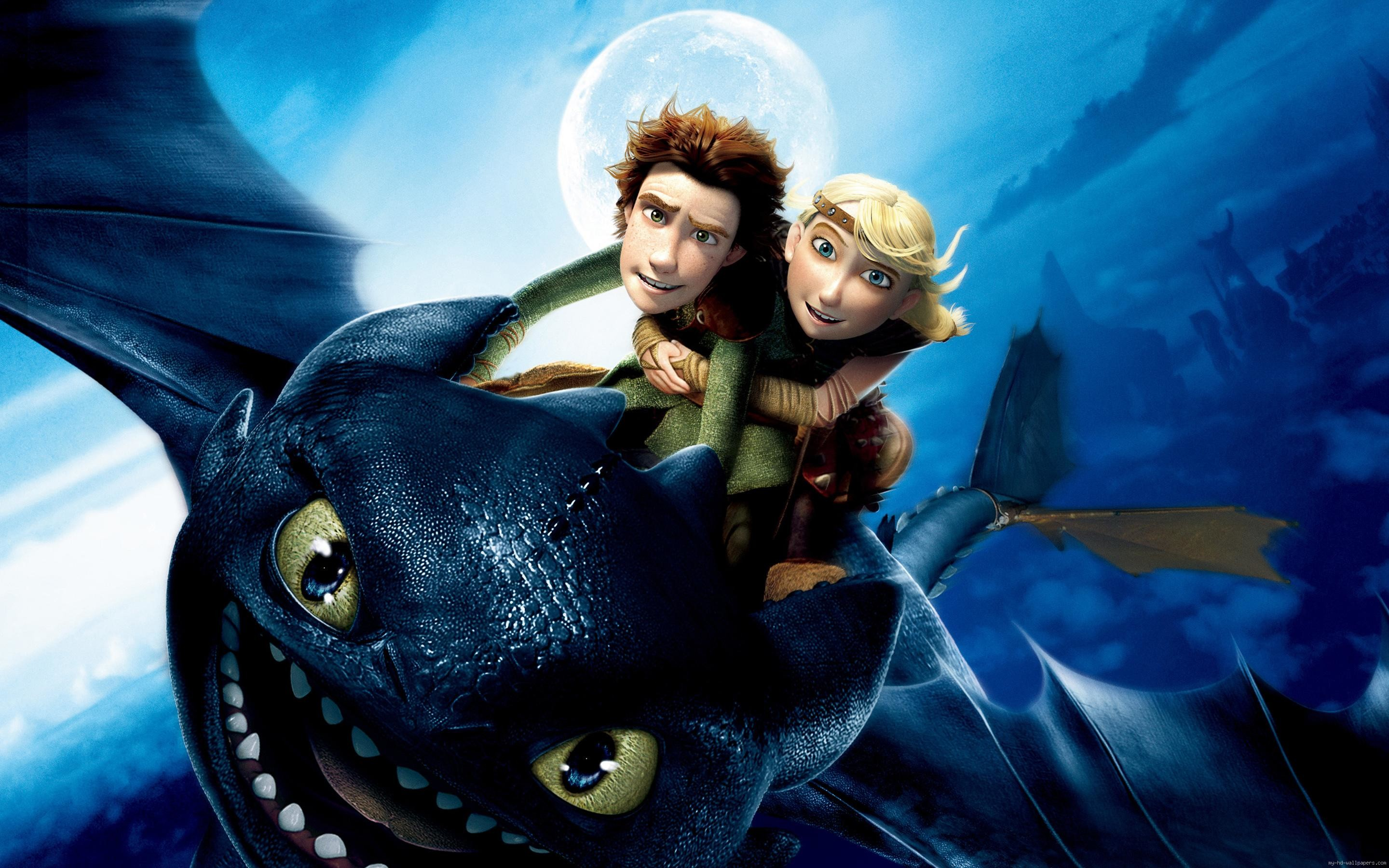 How to train your dragon Hiccup Toothless and Astrid …