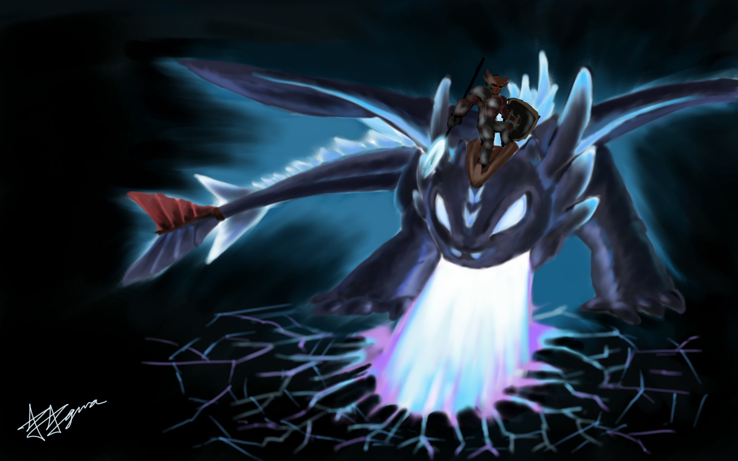 Alpha Toothless by KawaiiRaichu on DeviantArt