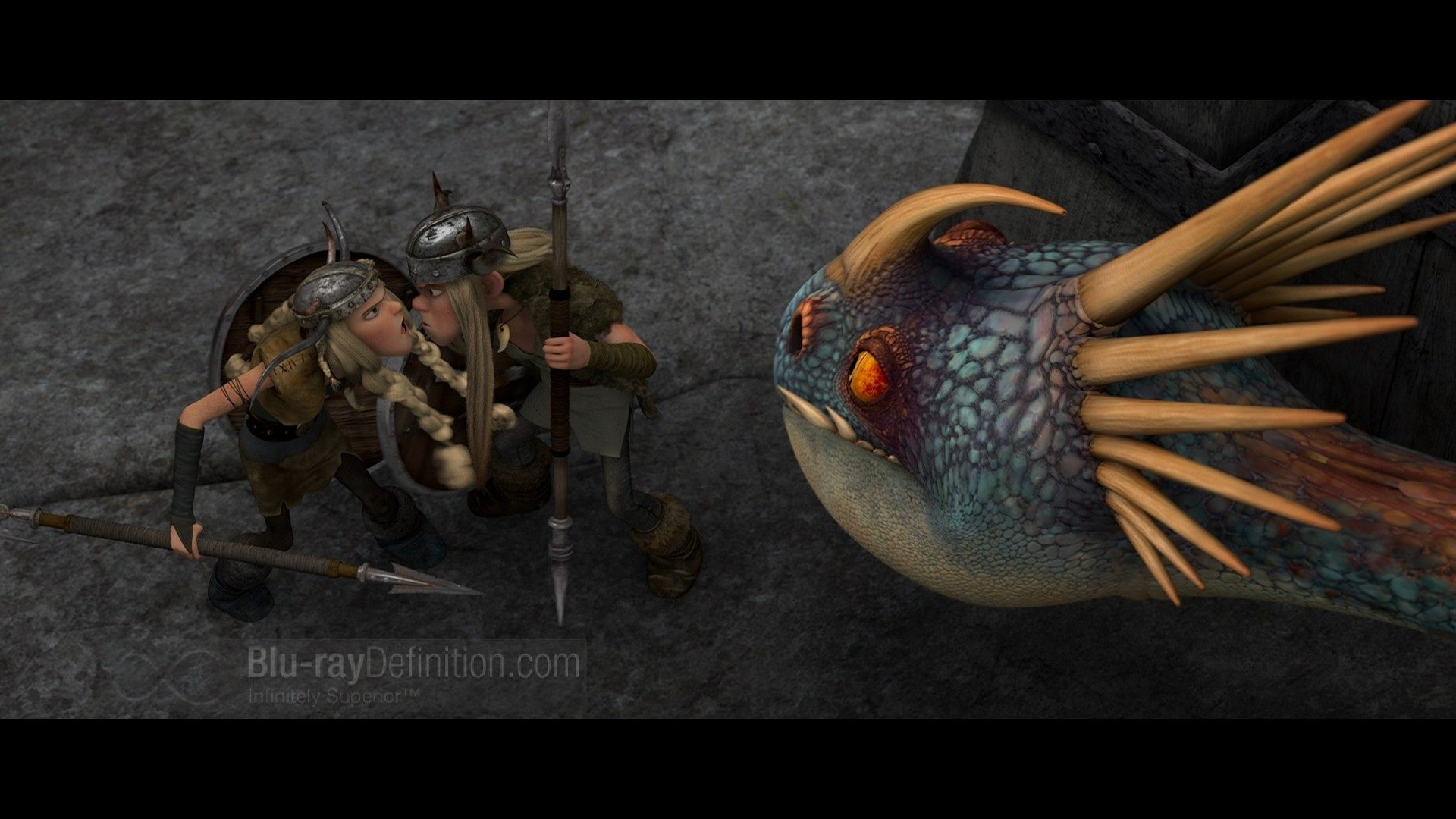 How to Train Your Dragon Blu Ray & 3D Wallpapers Part Two