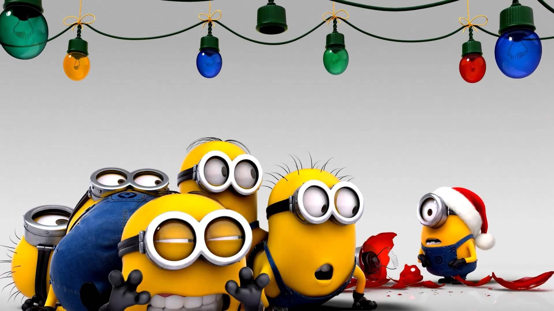 Christmas Minions Wallpapers Group