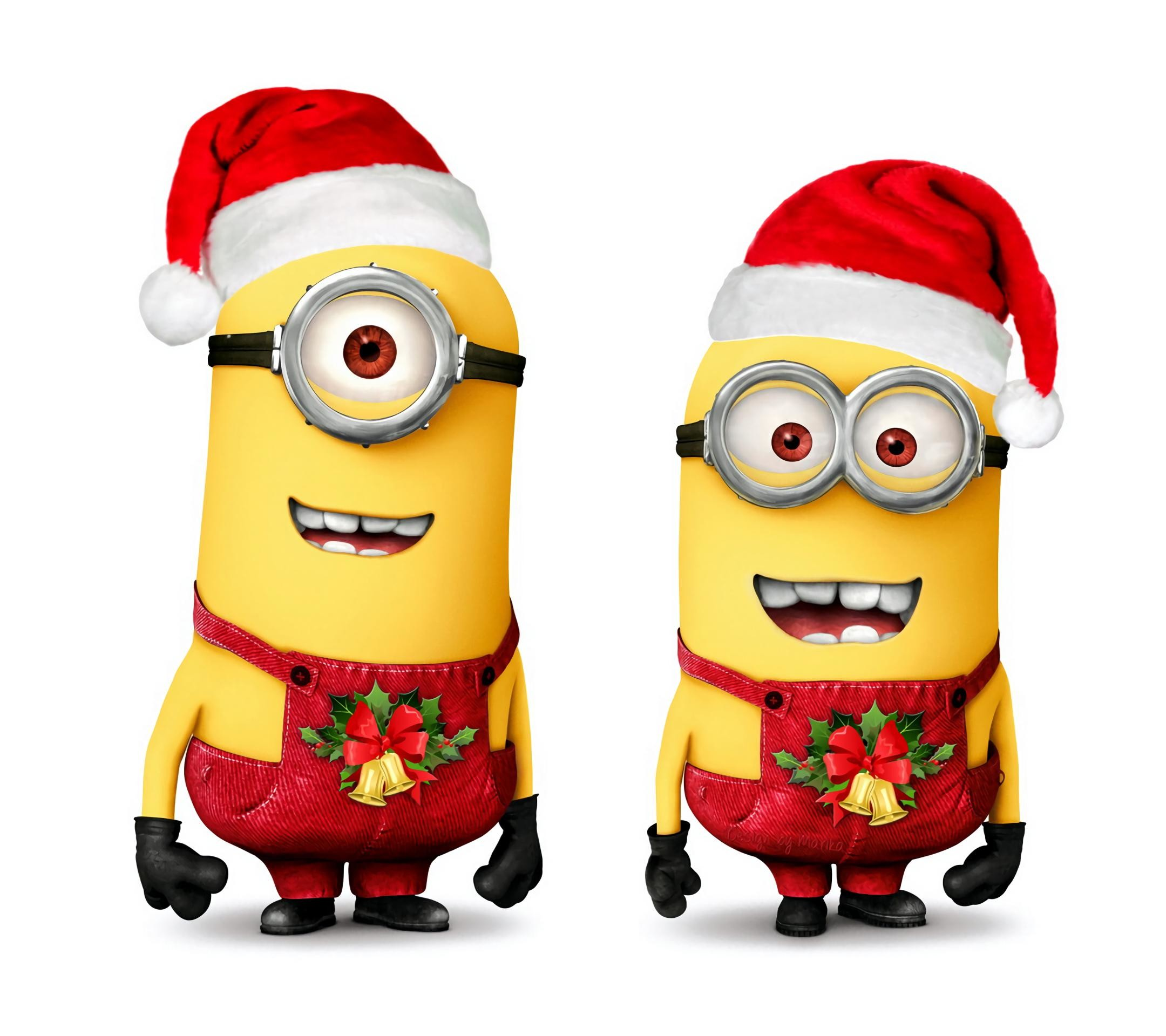 Minion Christmas.116 Minion Christmas