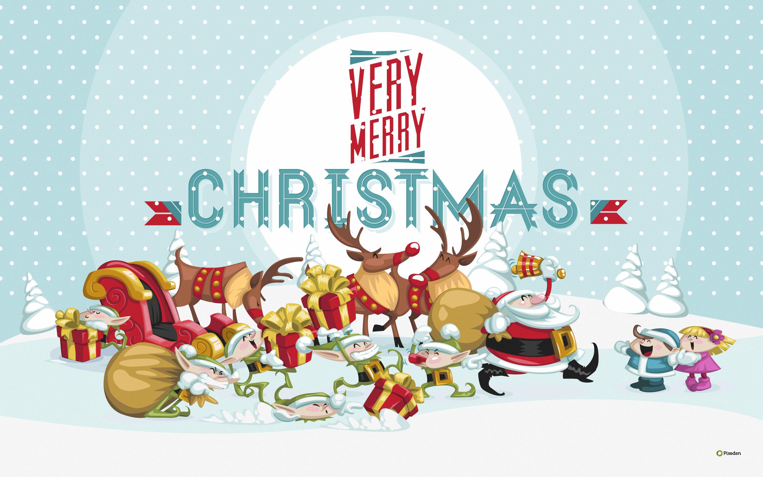 2017 Merry Christmas Wallpaper