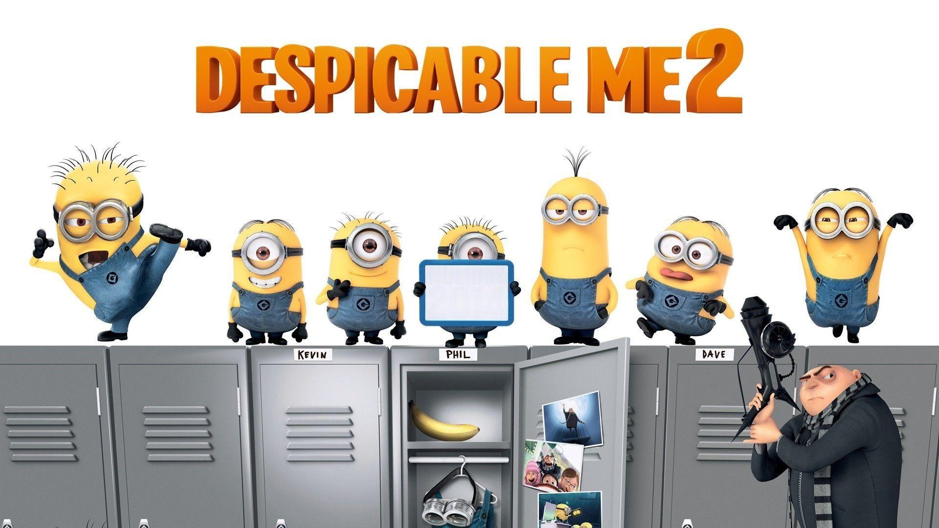 Funny : Despicable Me Cool Minion Wallpaper Foolhardi 1080x1920px .