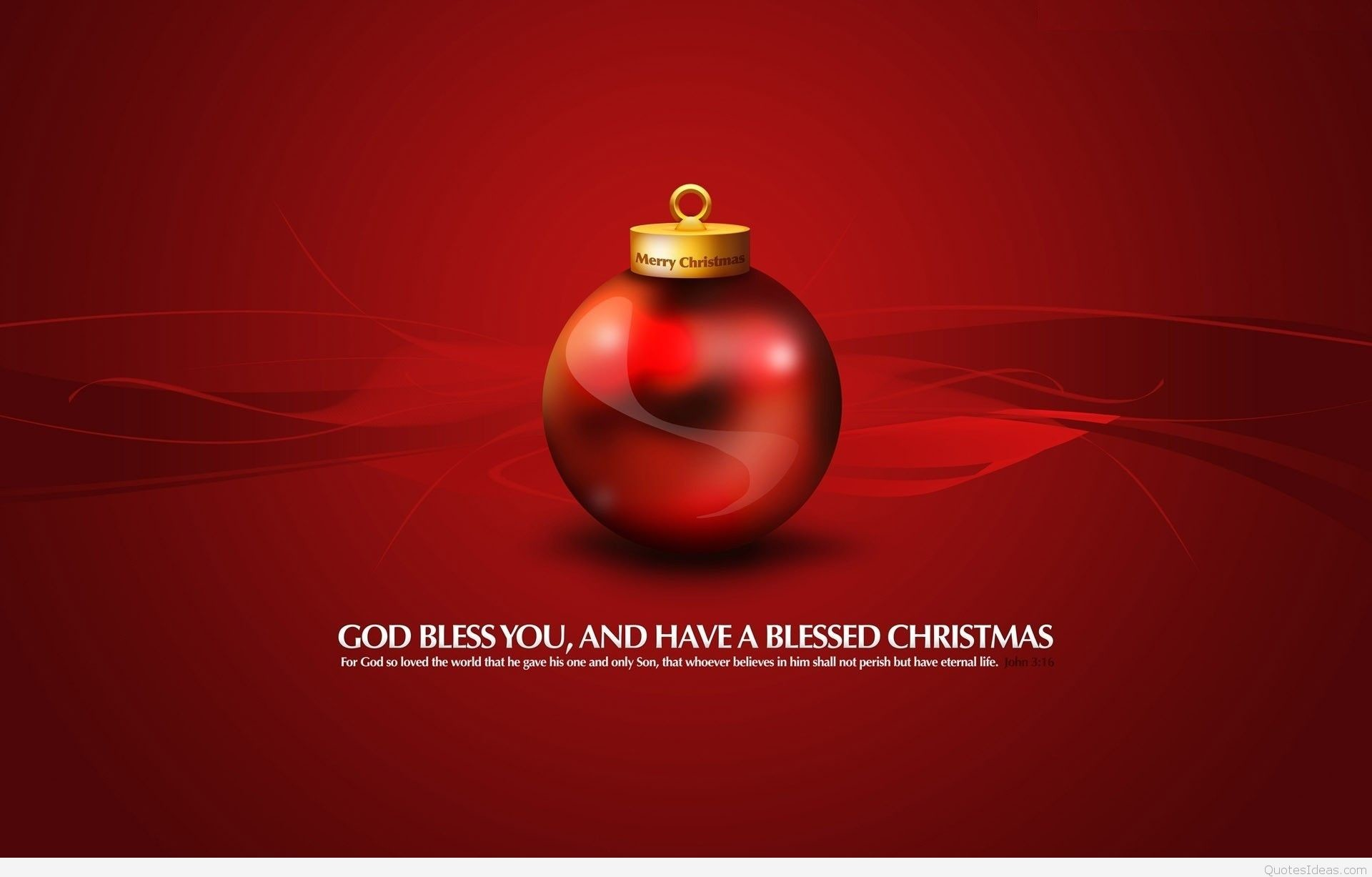 Quote on Merry Christmas wallpaper · www.hdnicewallpapers.com