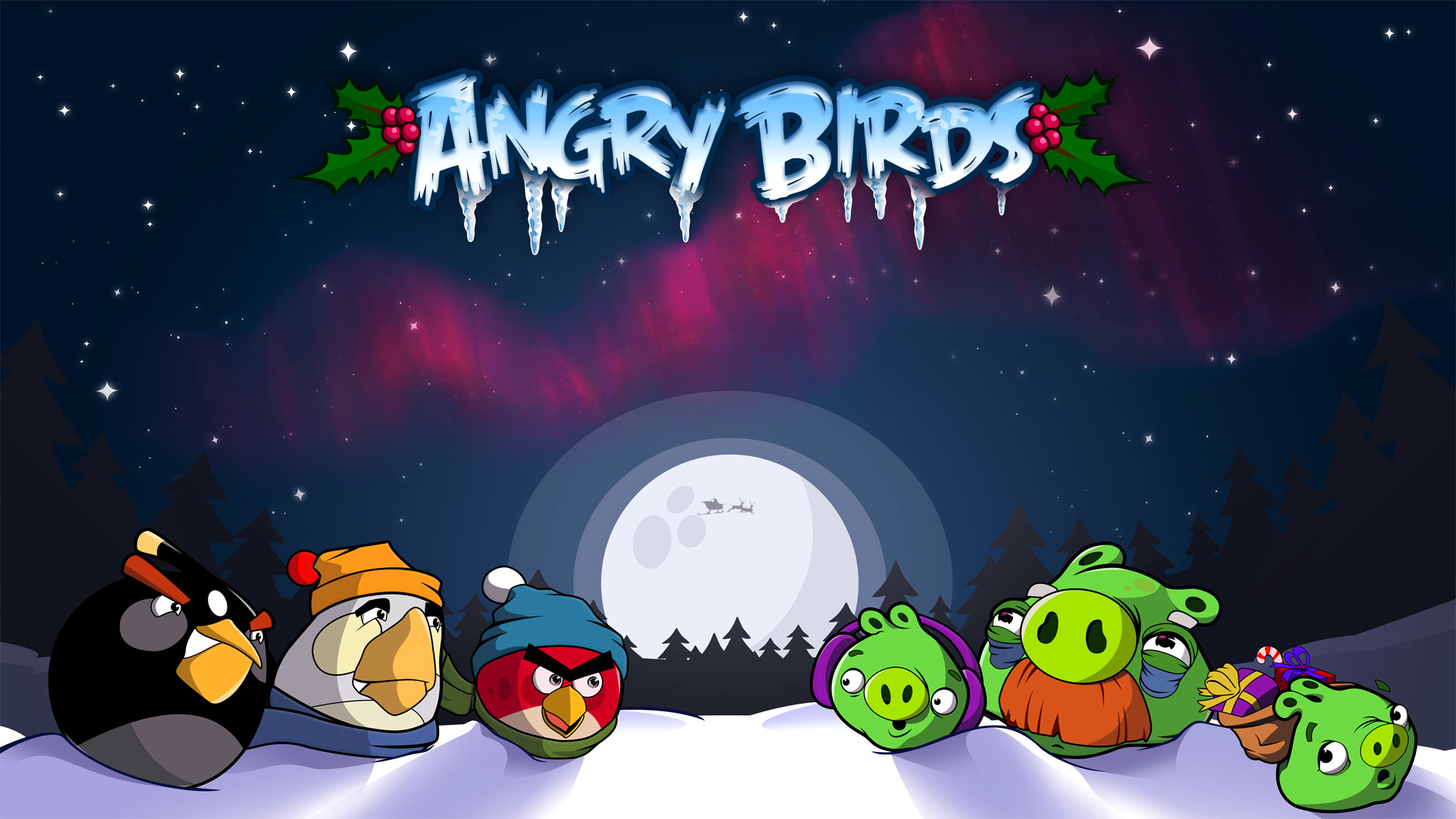 Download The Latest angry birds christmas Wallpapers & Pictures From  Wallpapers111.