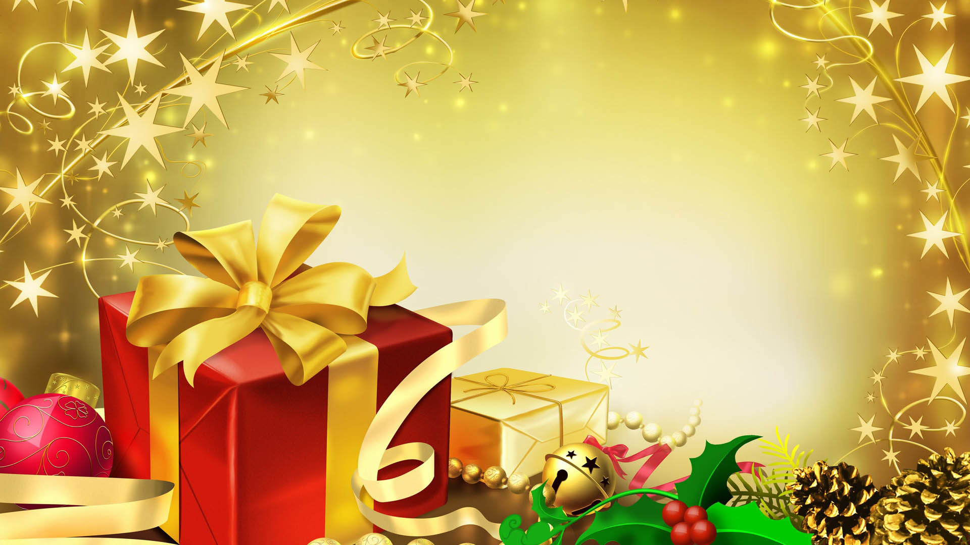 Colorful Gifts for Christmas Wallpapers