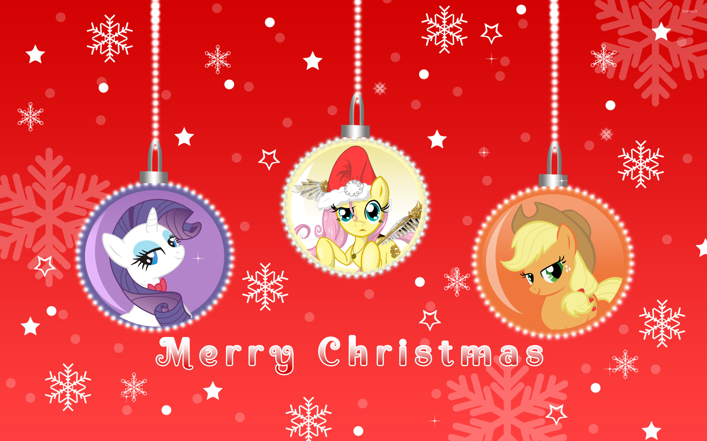 Merry My Little Pony Friendship is Magic Christmas [2] wallpaper