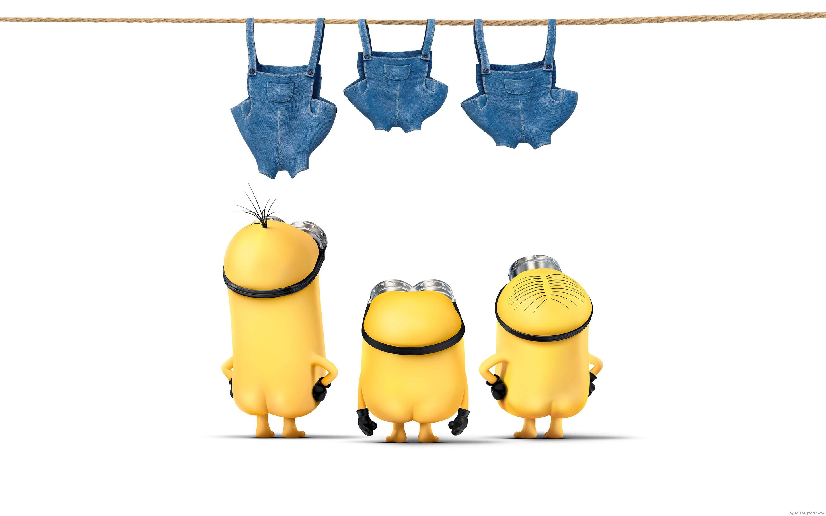Minions without their pant …