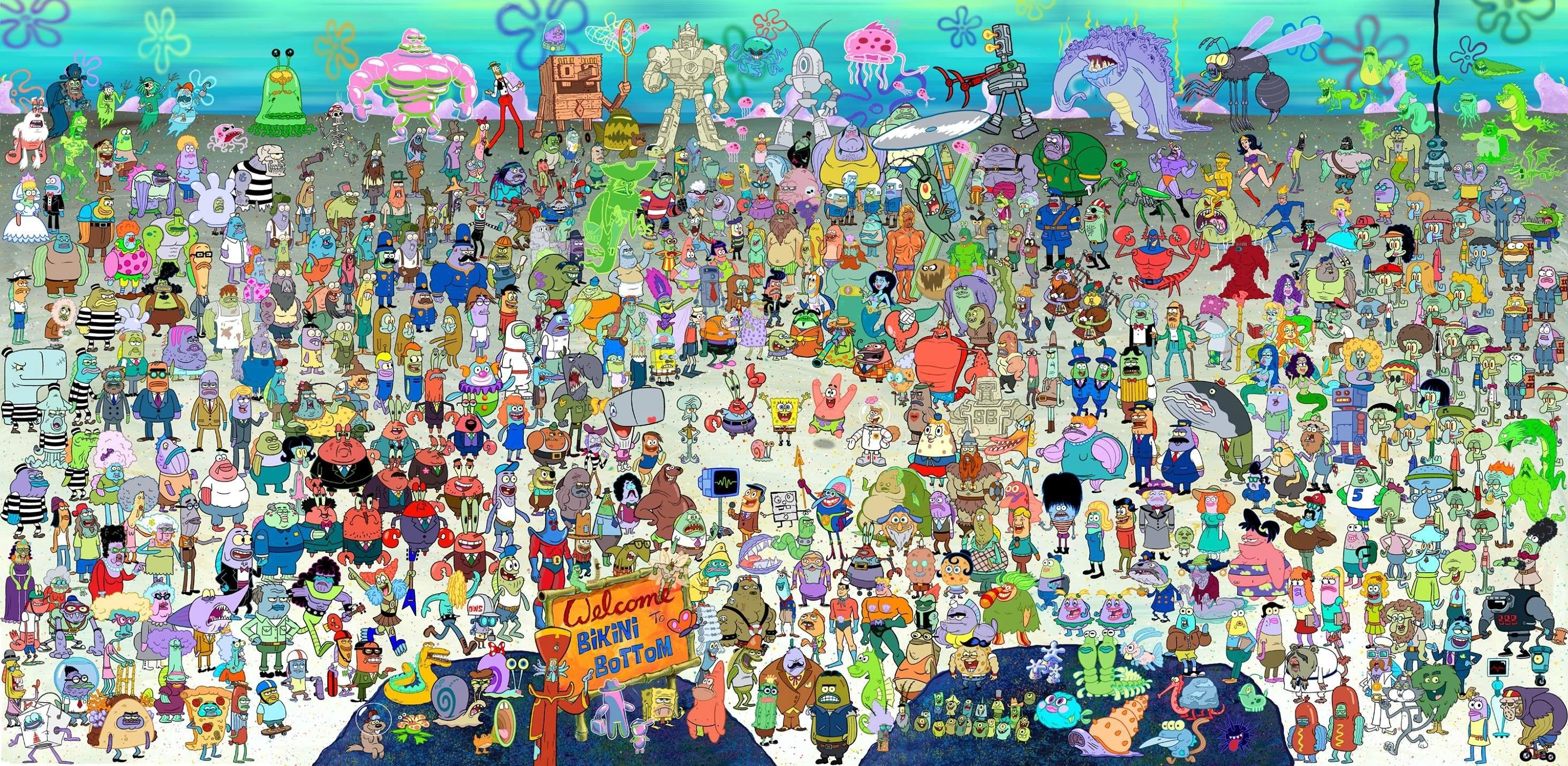 Background In High Quality – spongebob squarepants