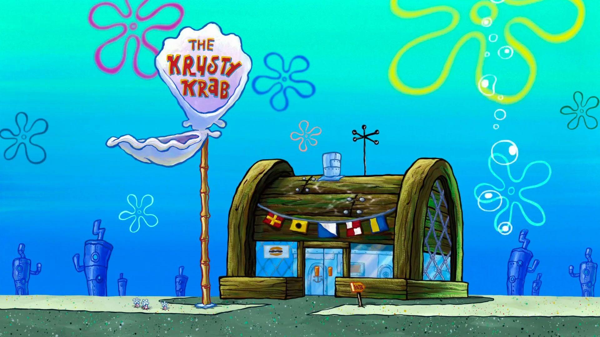 Spongebob HD Background