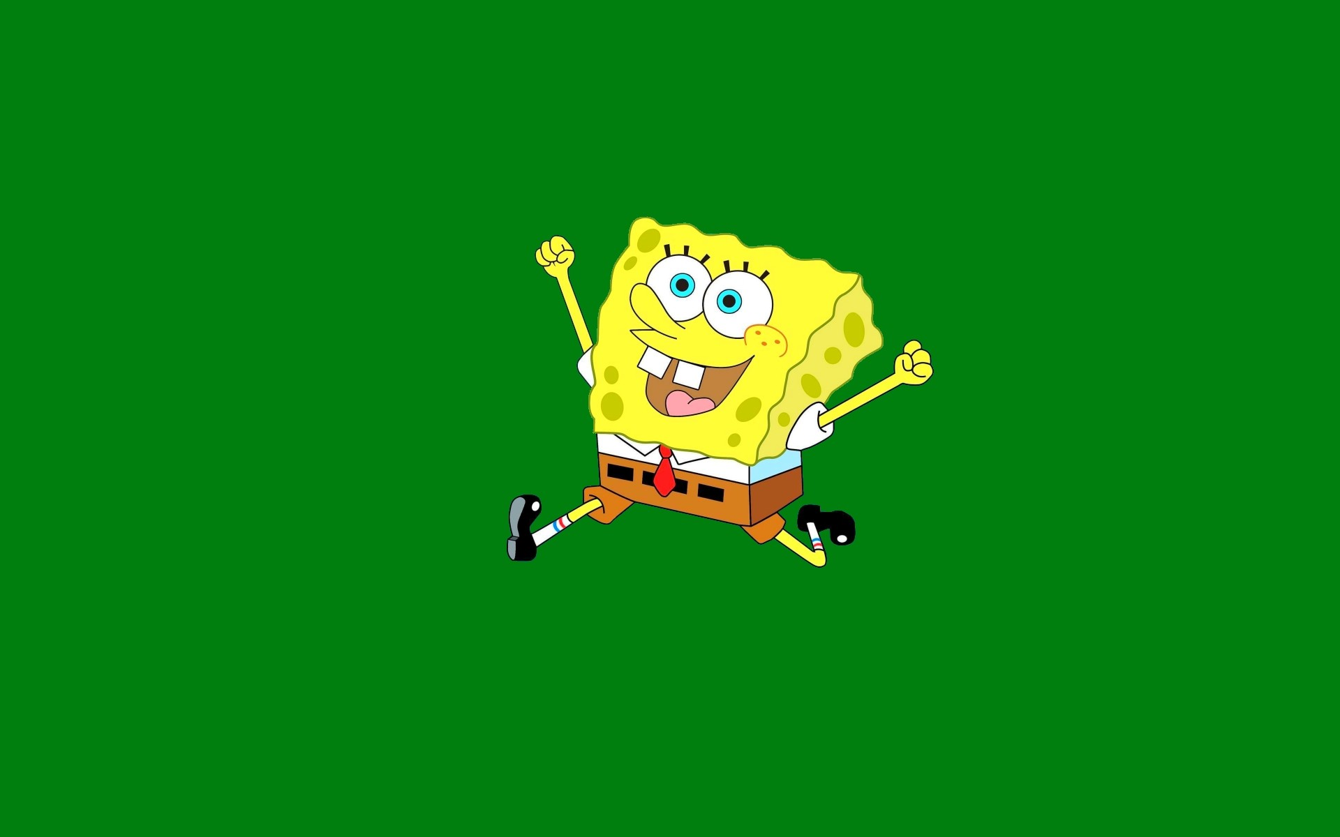 Simple SpongeBob HD background: