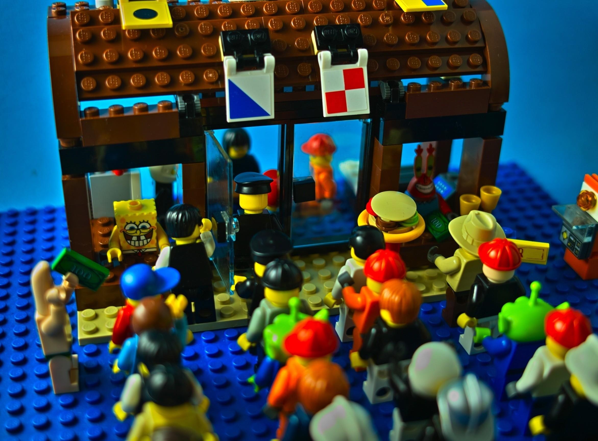 Lego SpongeBob Squarepants images LEGO SB SP HD wallpaper and background  photos