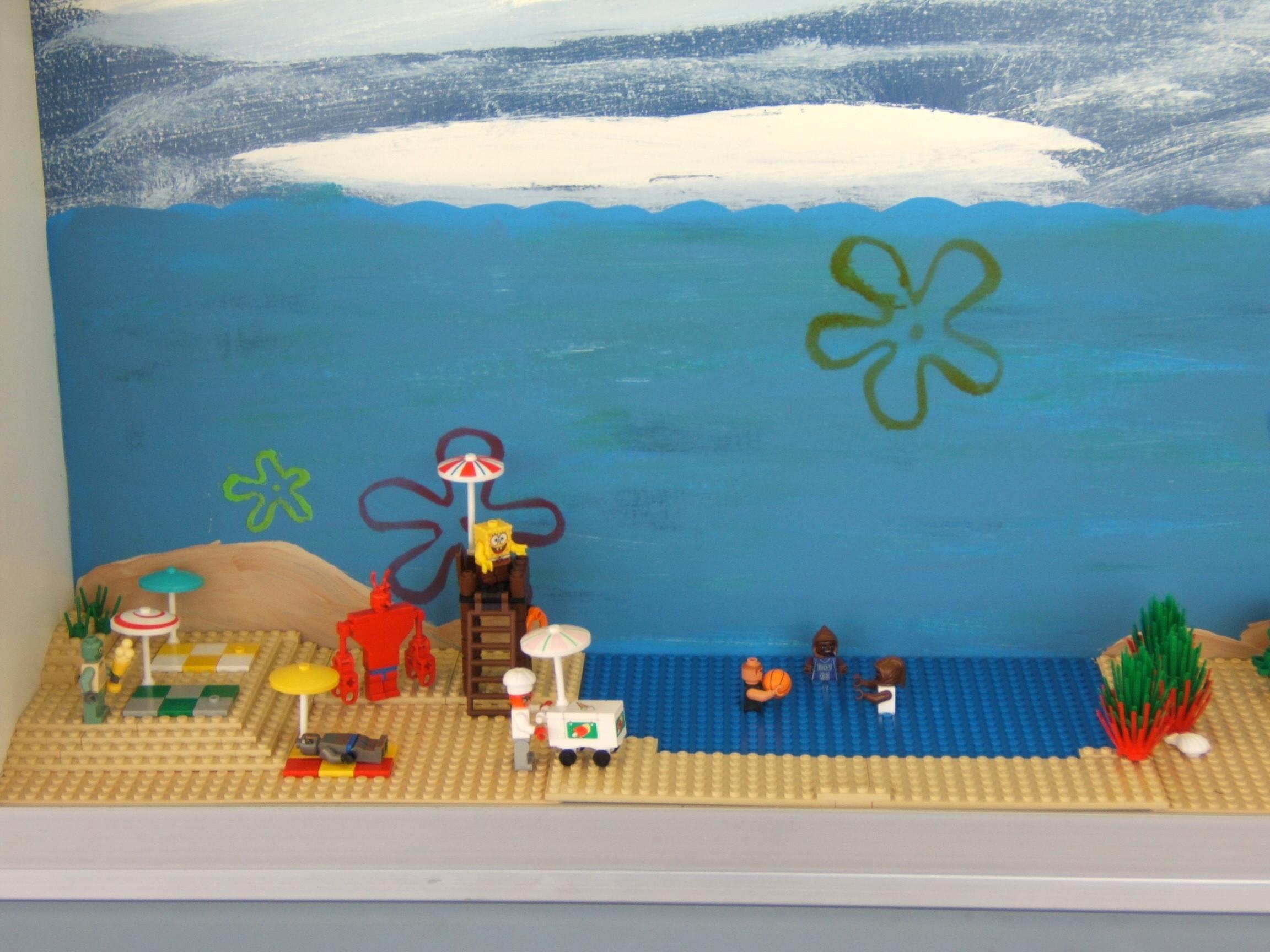 Lego SpongeBob Squarepants images Lego Sponge City HD wallpaper and  background photos