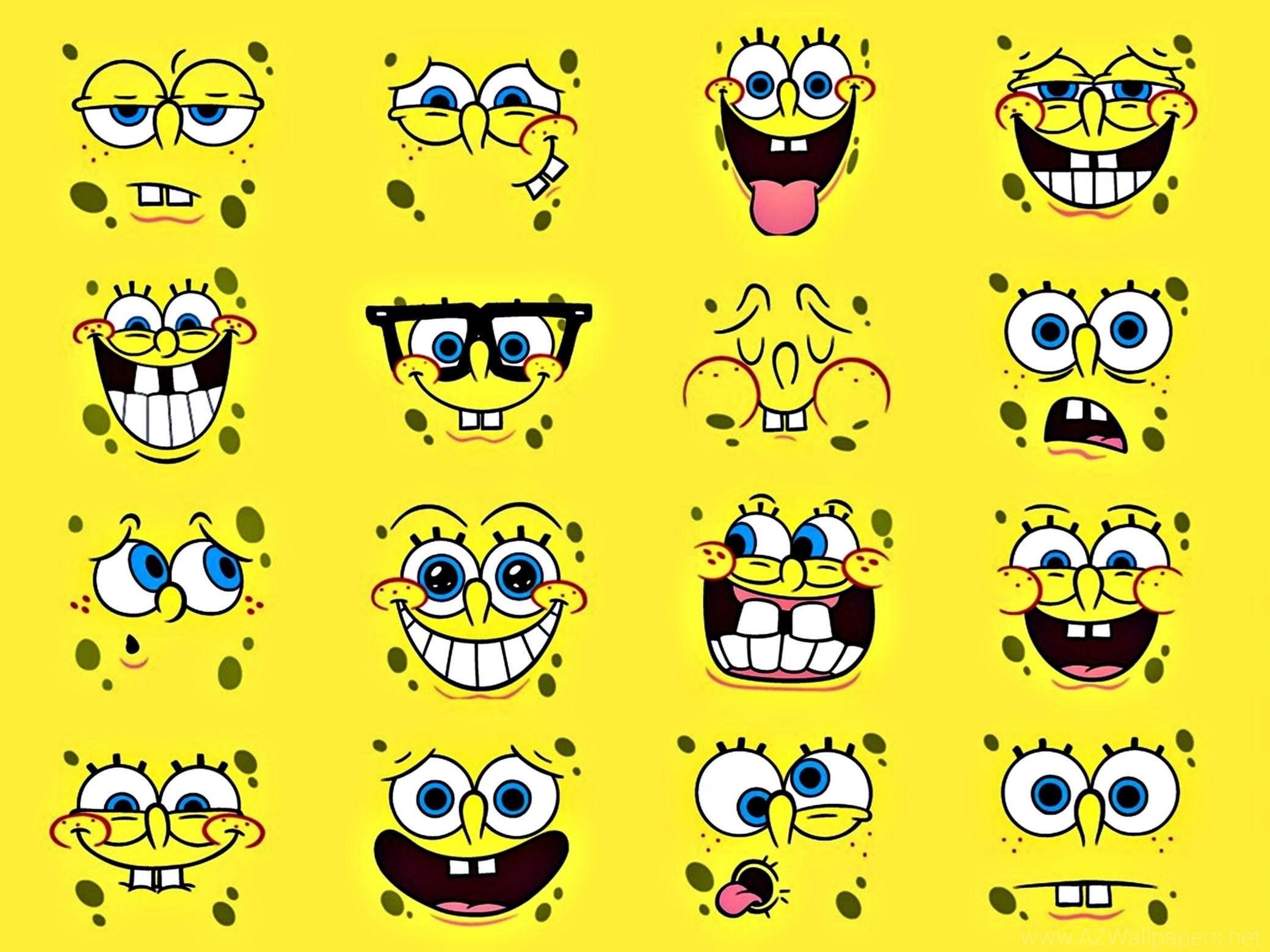 Face Spongebob Squarepants Anime HD Wallpapers Picture