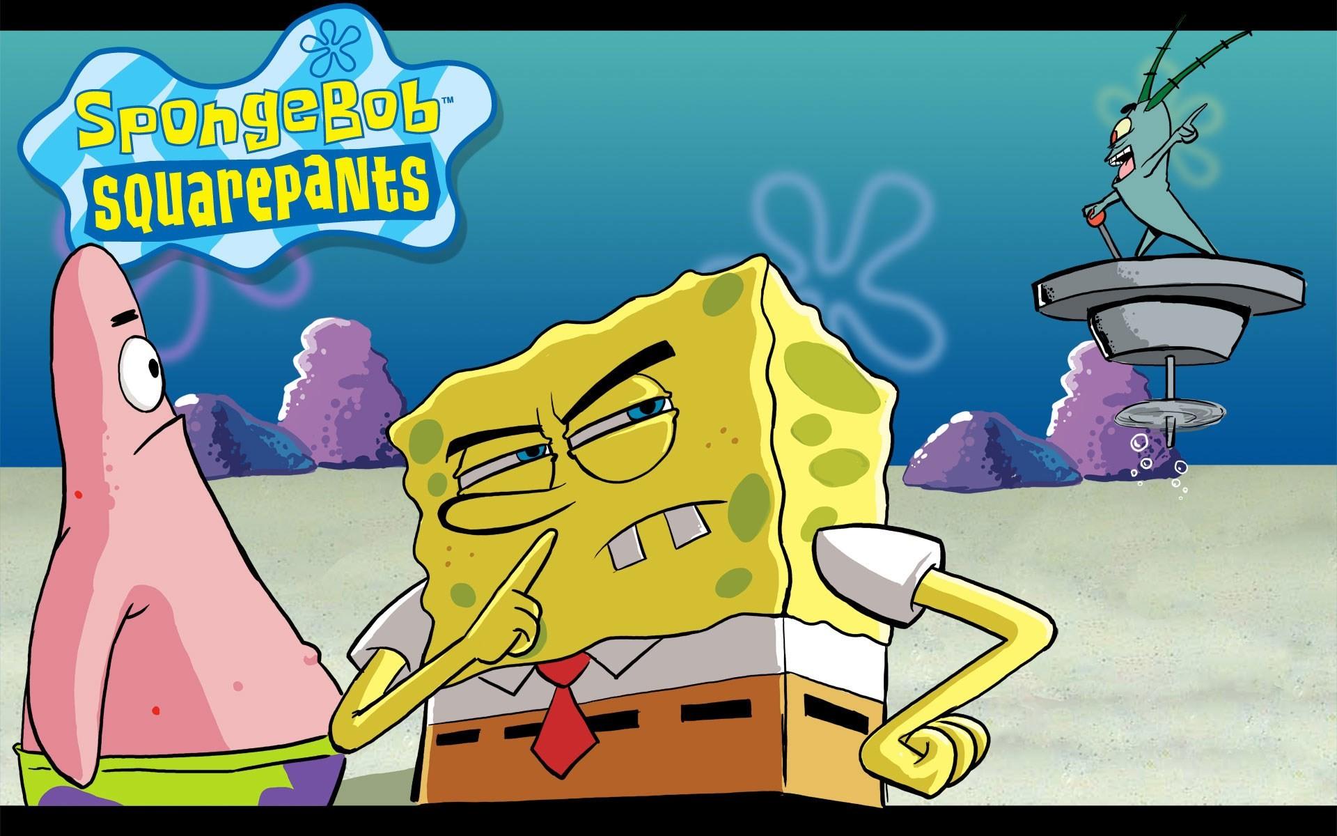 Background High Resolution: spongebob squarepants