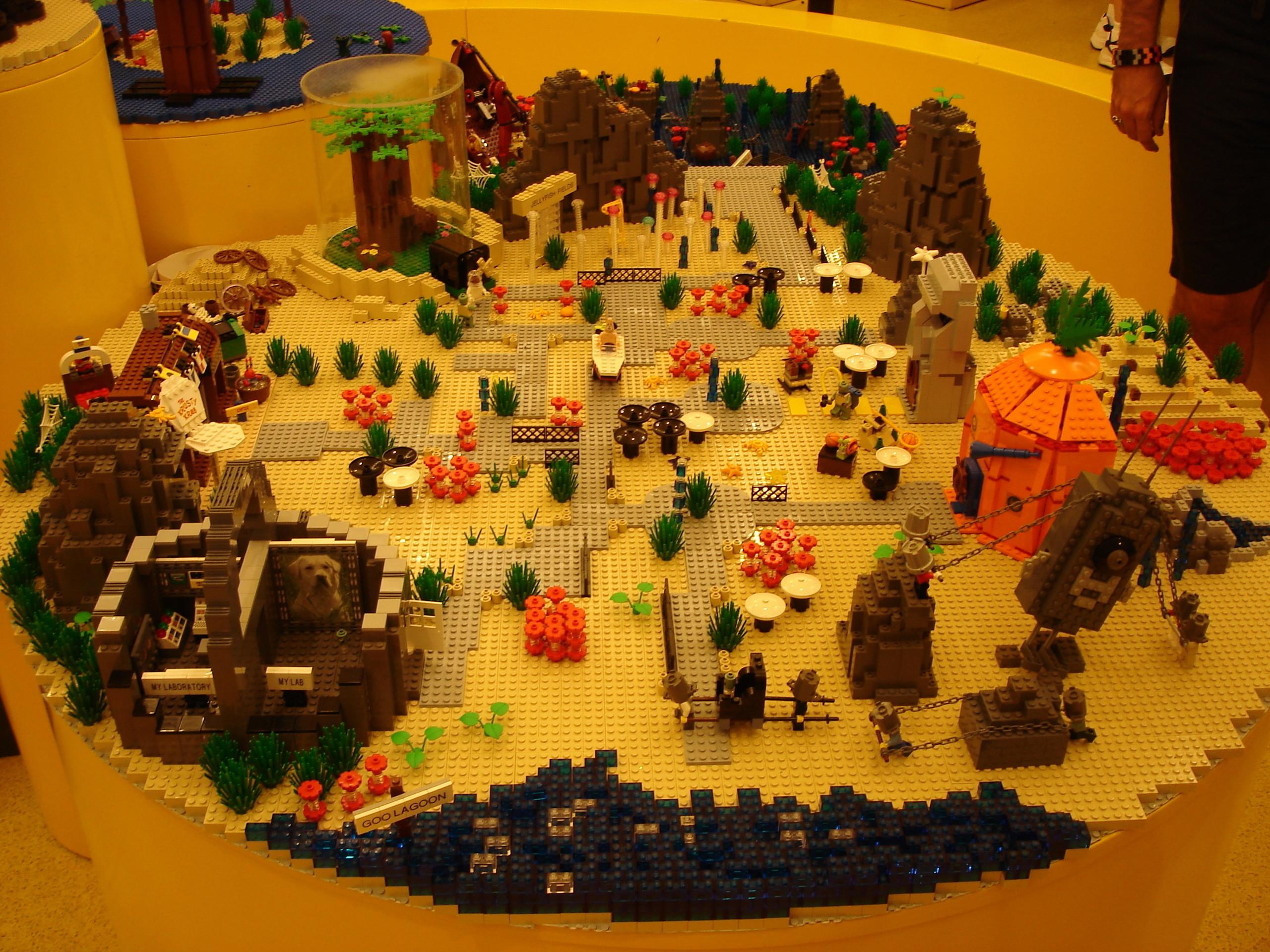 Lego SpongeBob Squarepants images The Hall Of Bikini Bottom HD wallpaper  and background photos
