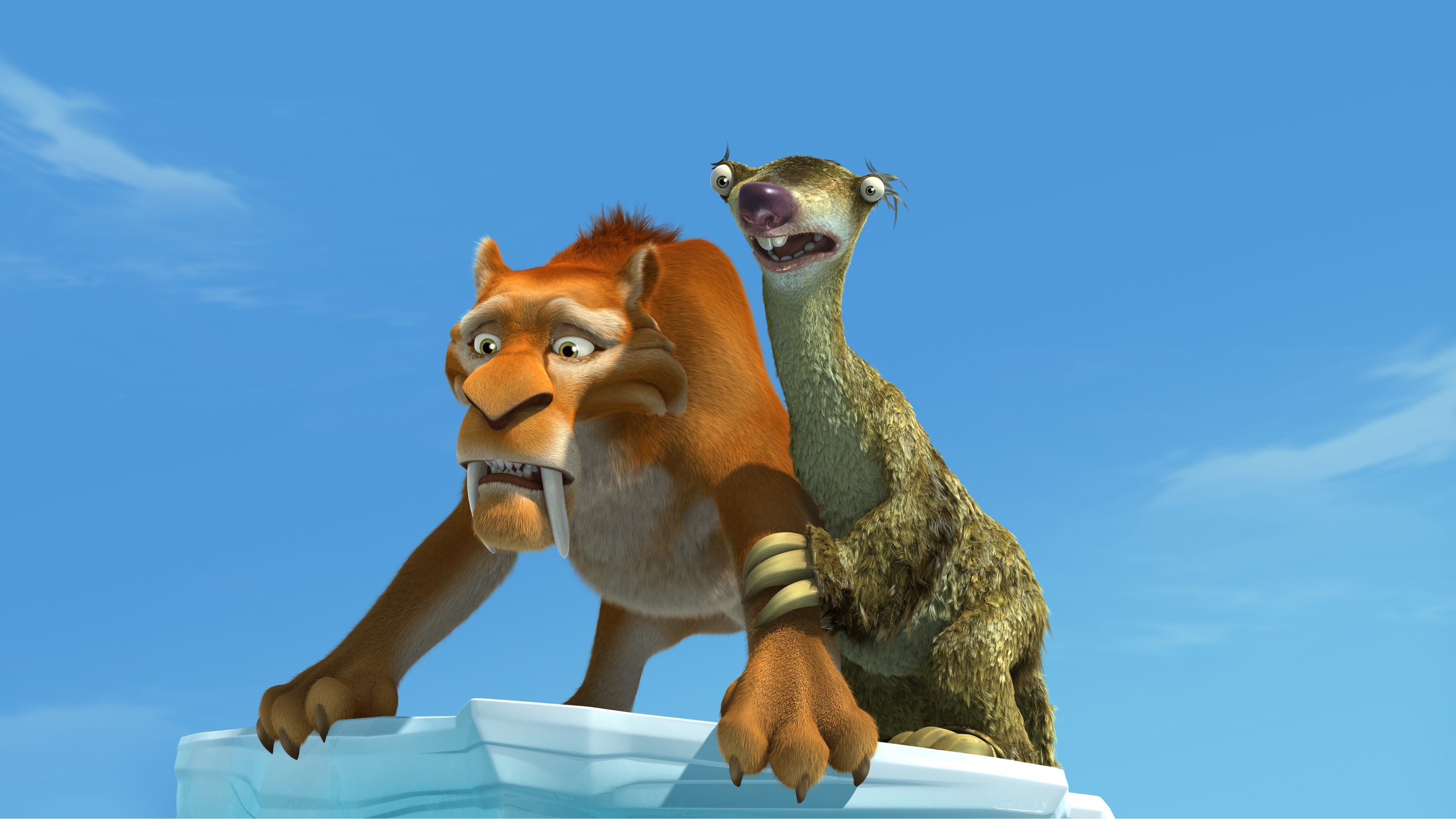 ice age sid saber tooth tiger hd wall paper