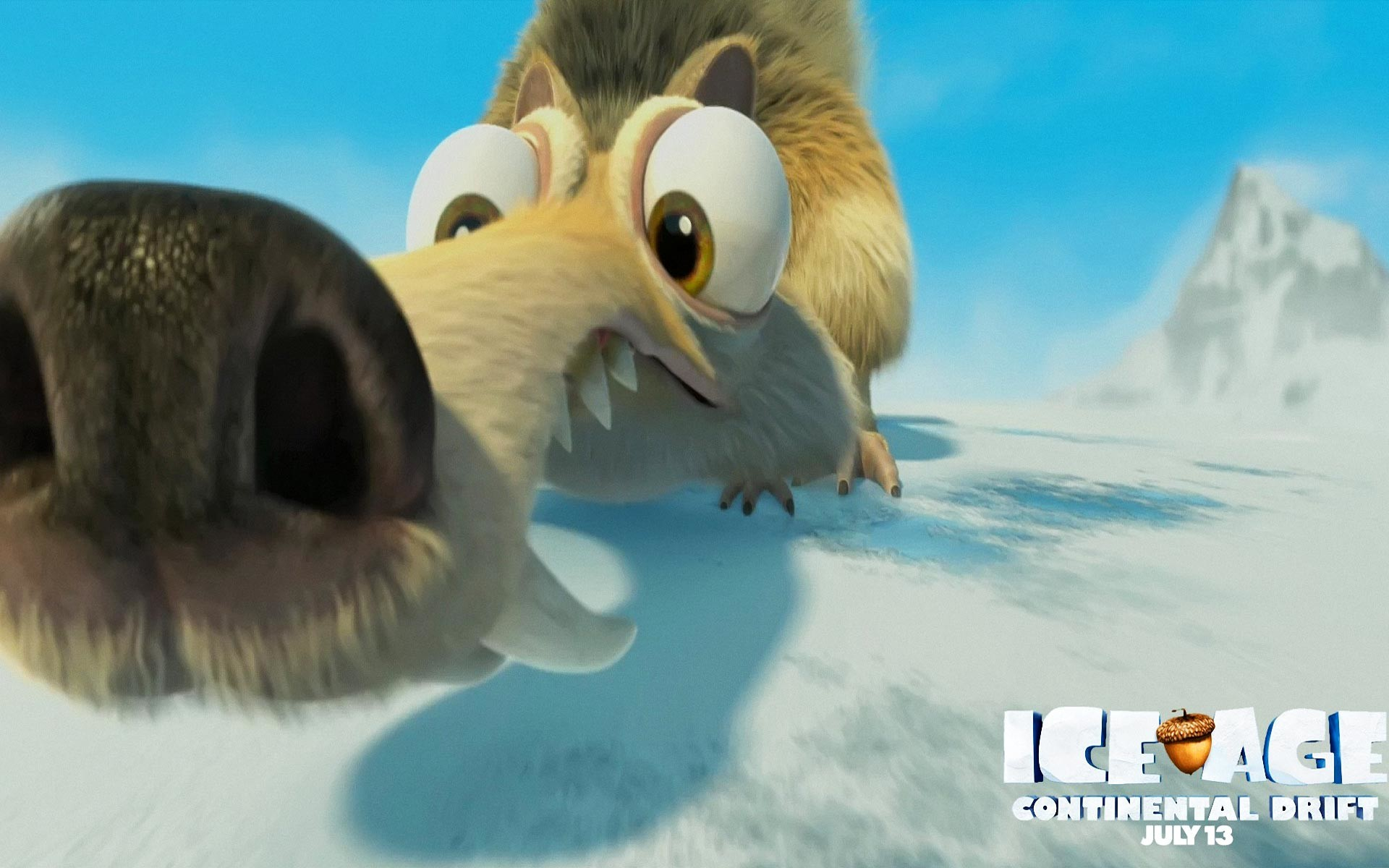 Ice Age 4: Continental Drift Wallpaper 01