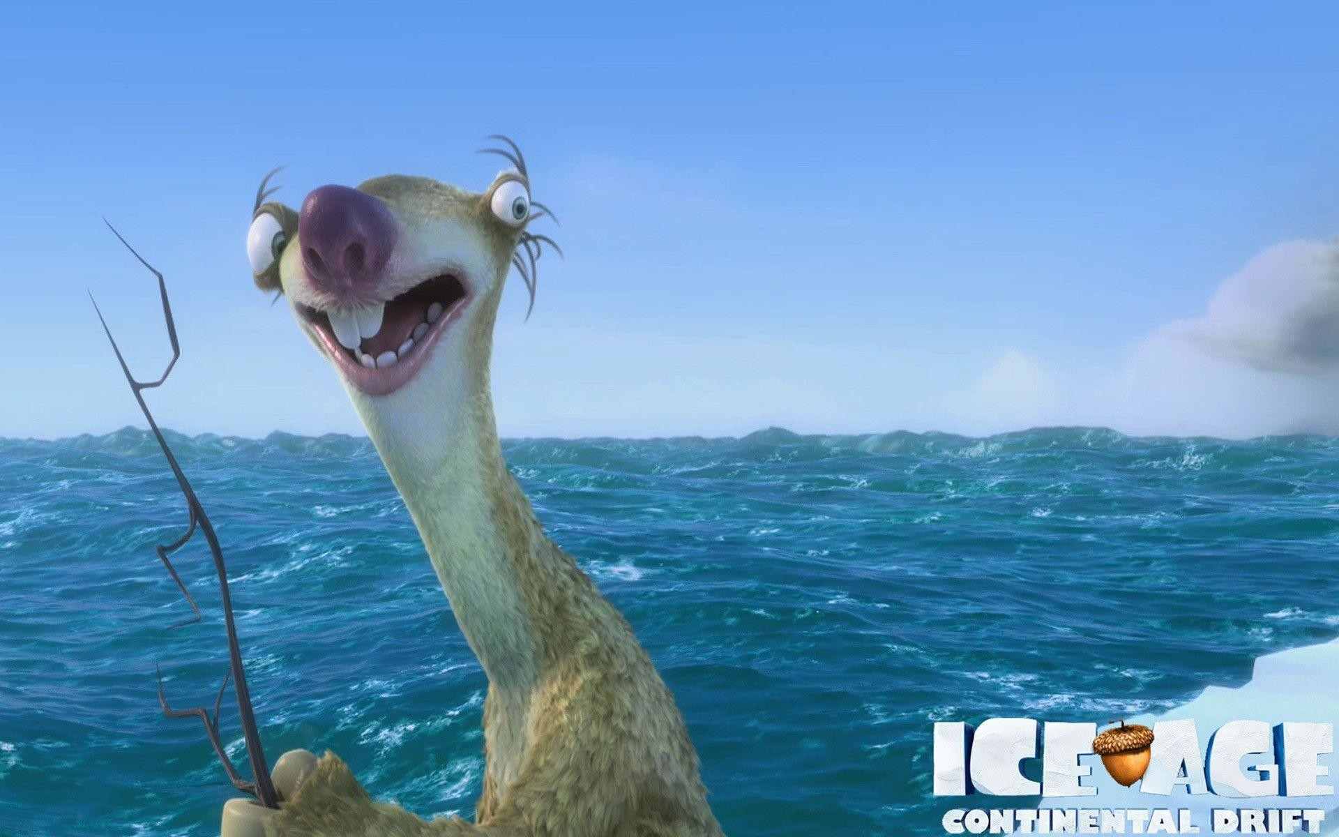 Cartoons Wallpapers – Ice Age: Continental Drift – Sid .