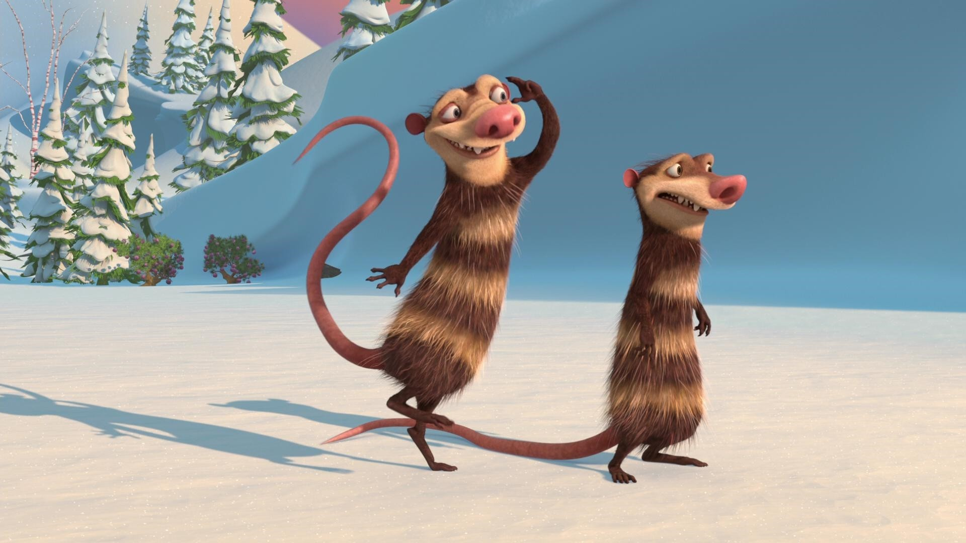 ice age crash and eddie rats