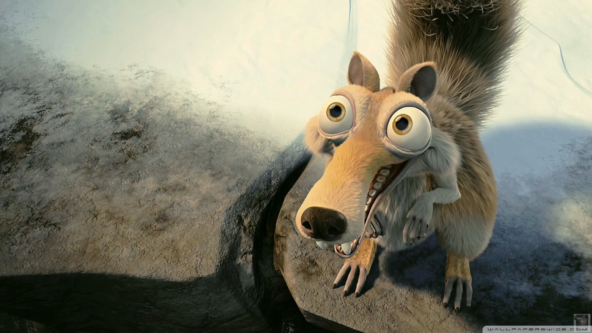 Scrat In Love Ice Age HD Wide Wallpaper for Widescreen