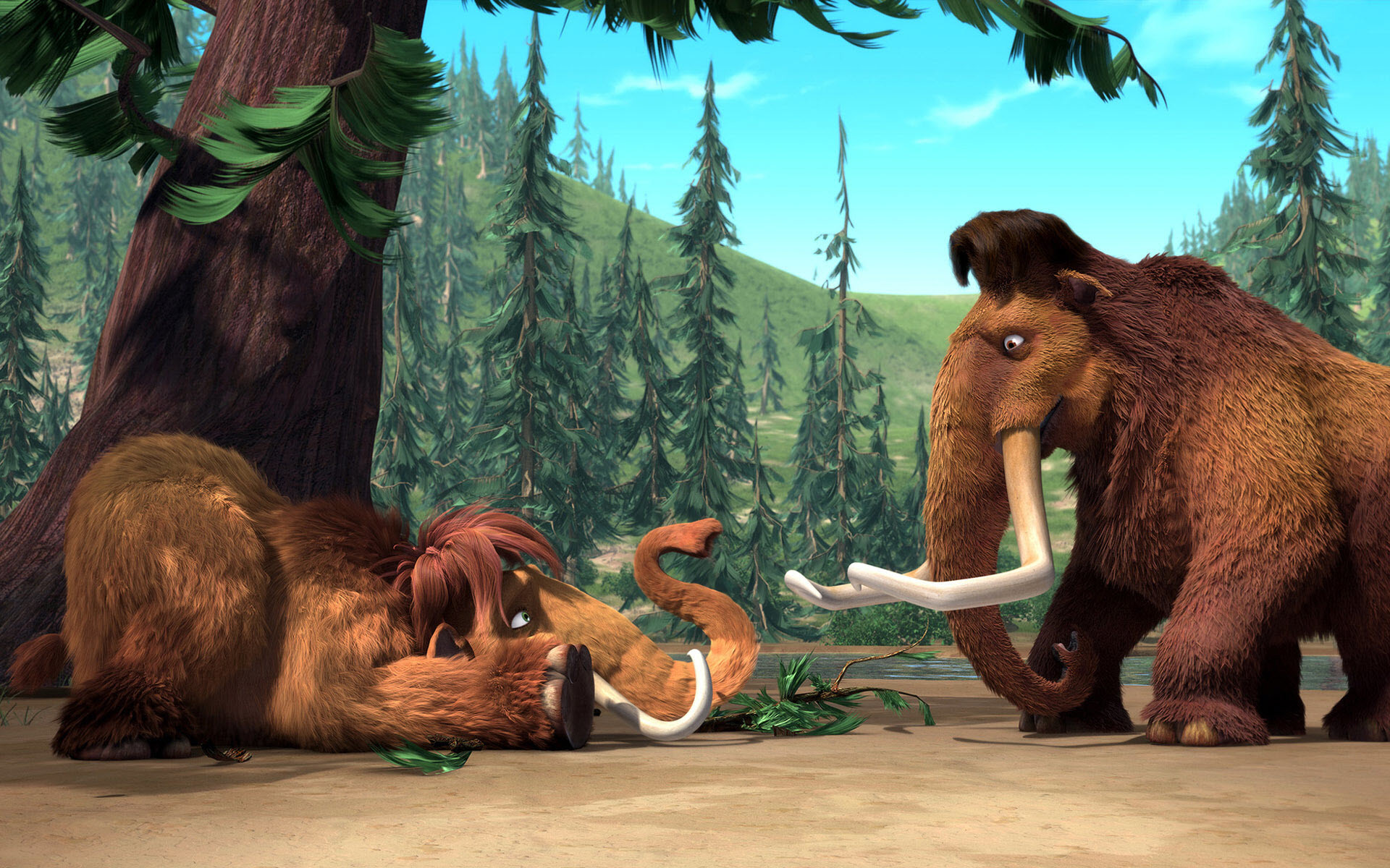 Ice Age – Manny with Daughter, Peaches