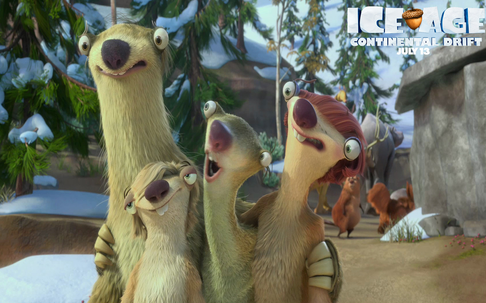 Movie – Ice Age: Continental Drift Ice Age Wallpaper