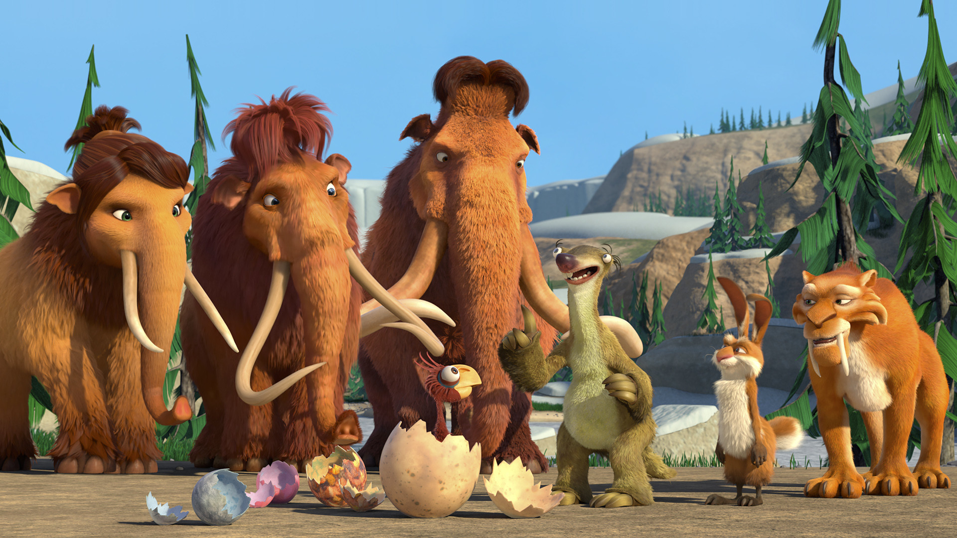 3 Ice Age: The Great Egg-Scapade HD Wallpapers | Backgrounds – Wallpaper  Abyss