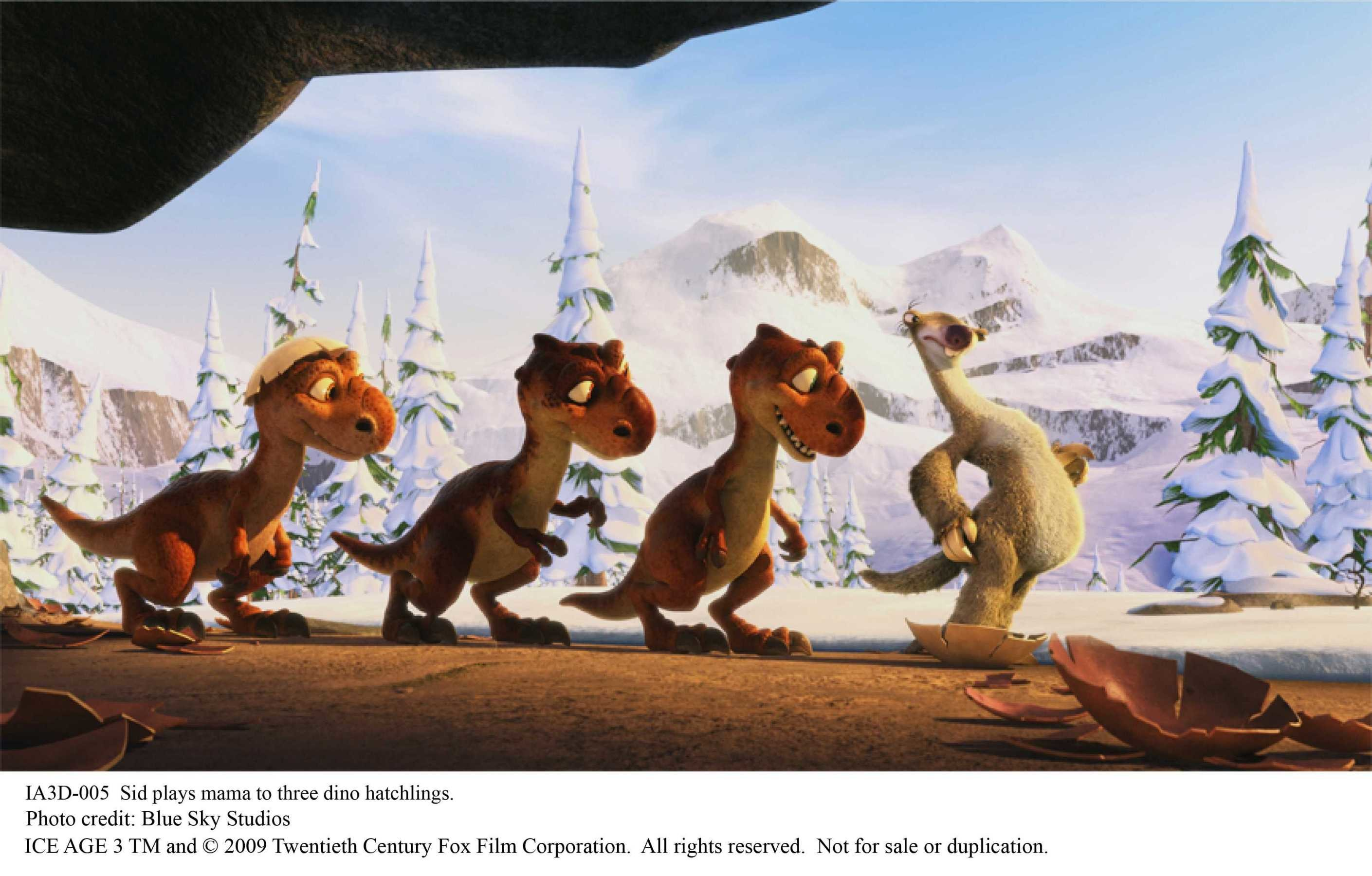 Mama Sid in Ice Age: Dawn of the Dinosaurs