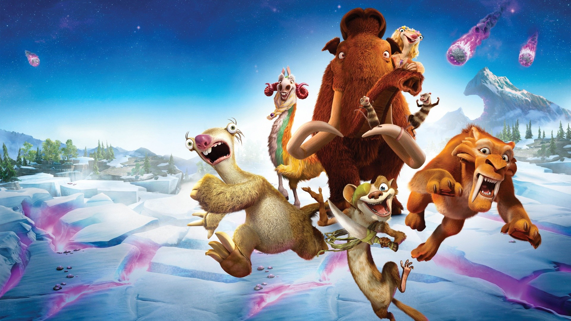 Ice Age Collision Course 5K Wallpapers