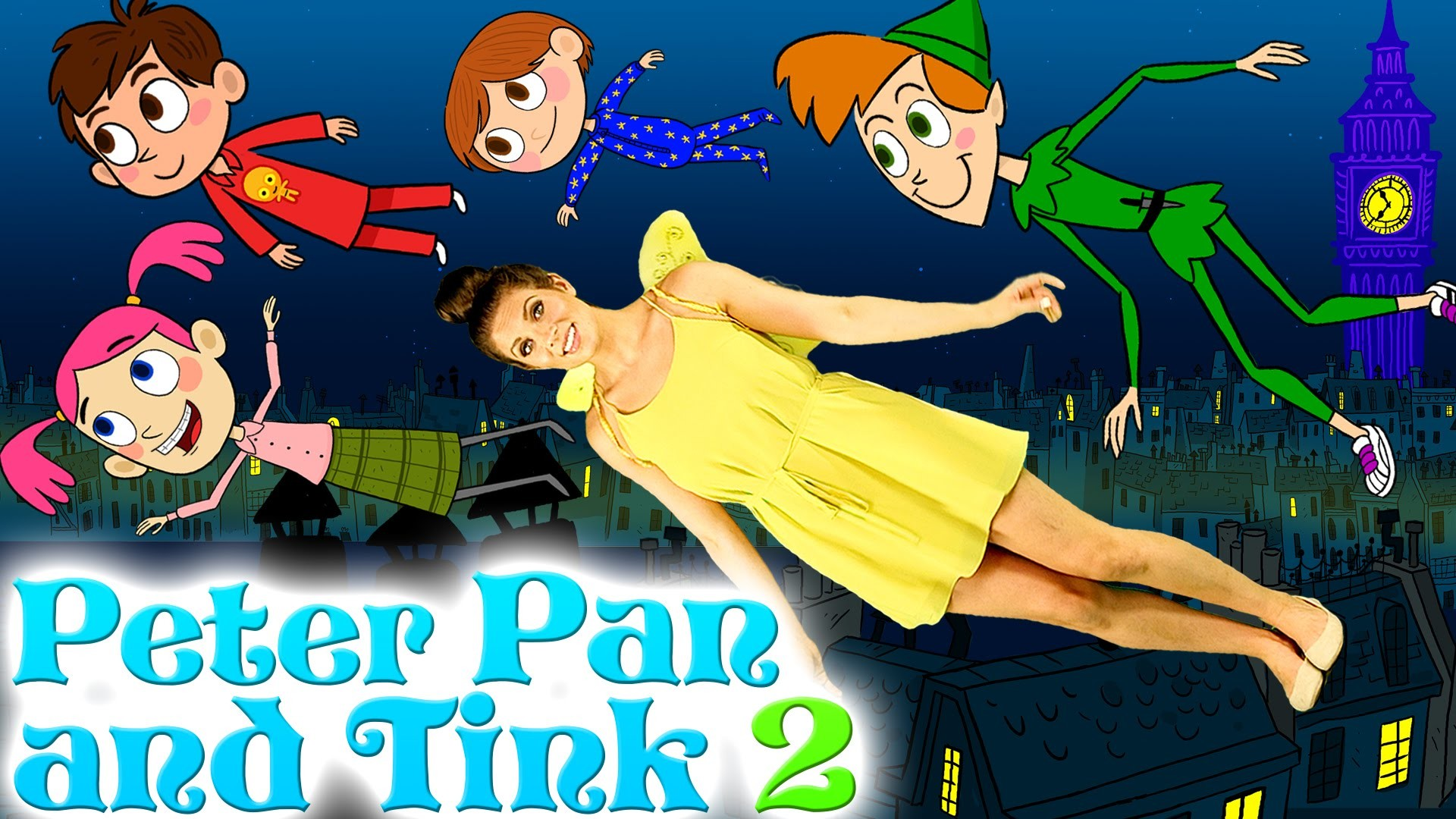 Tinkerbell and Peter Pan – Part 2 | Story Time with Ms. Booksy at Cool  School