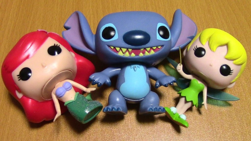 Vinyl: Ariel, Stitch, and Tinkerbell Unboxing