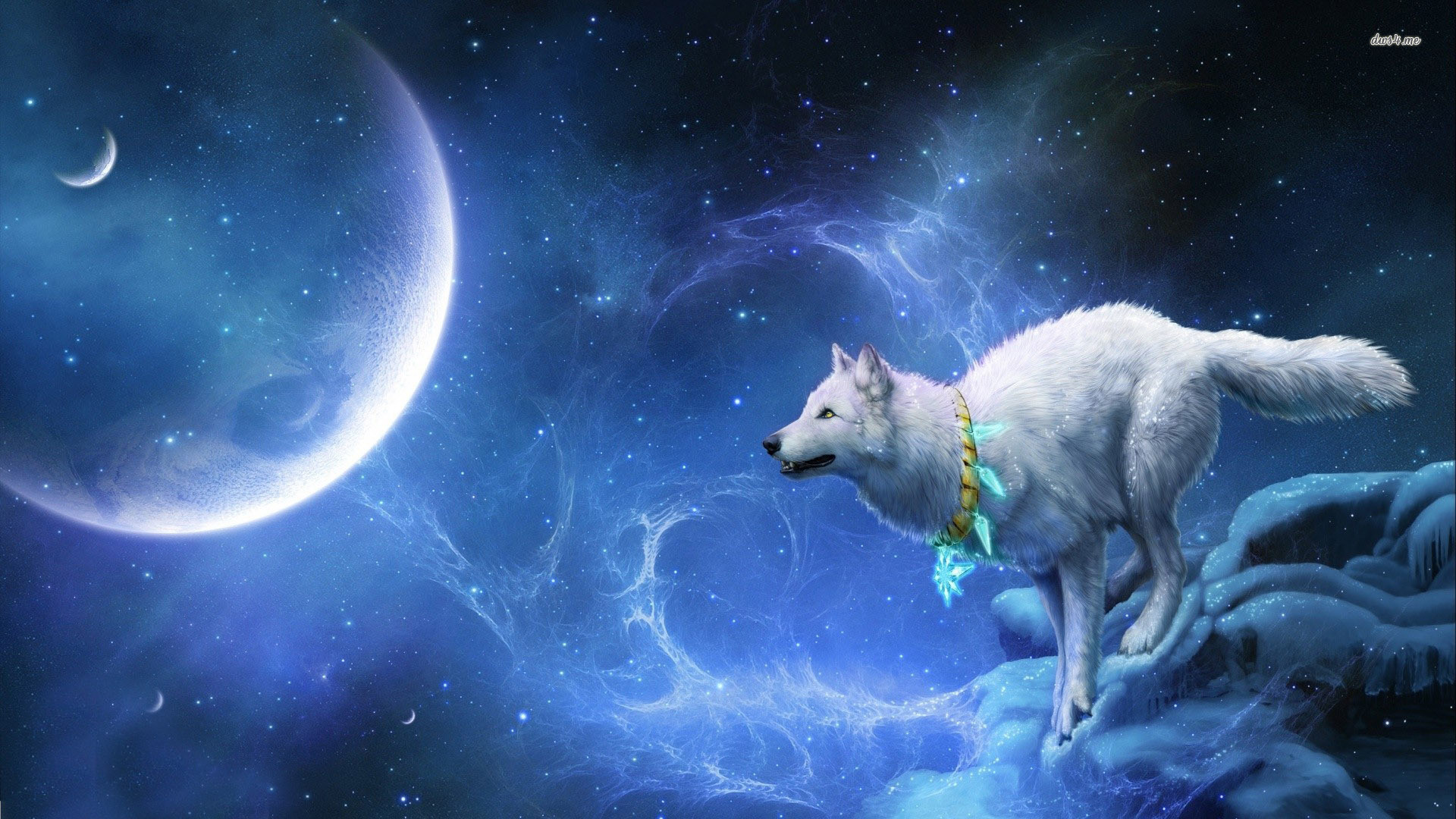 Image – 13825-wolf-in-space-1920×1080-digital-art-wallpaper.jpg | Animal Jam  Clans Wiki | FANDOM powered by Wikia