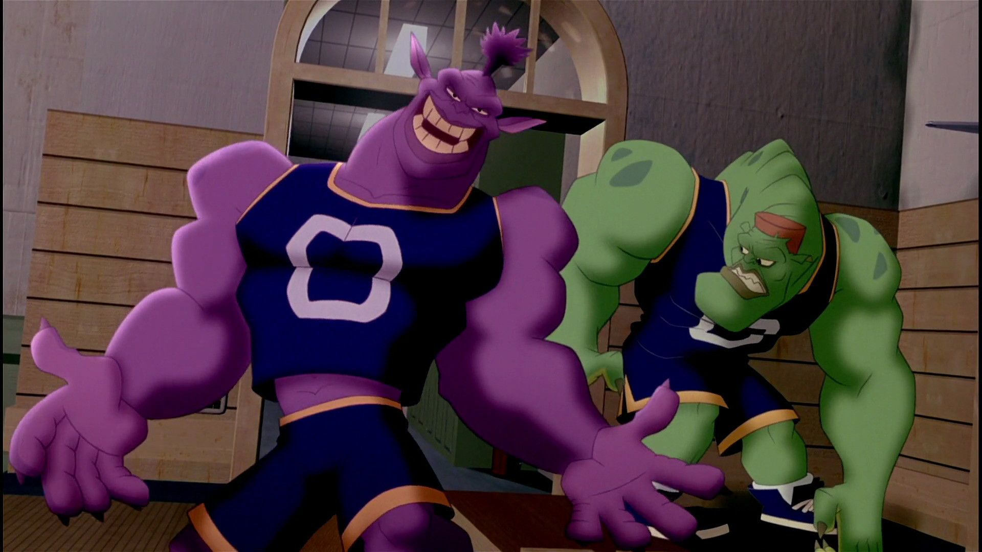Bupkus smiled & about to nod his head while looking at Mr. Swackhammer. |  Monstars Bupkus | Pinterest | Space jam