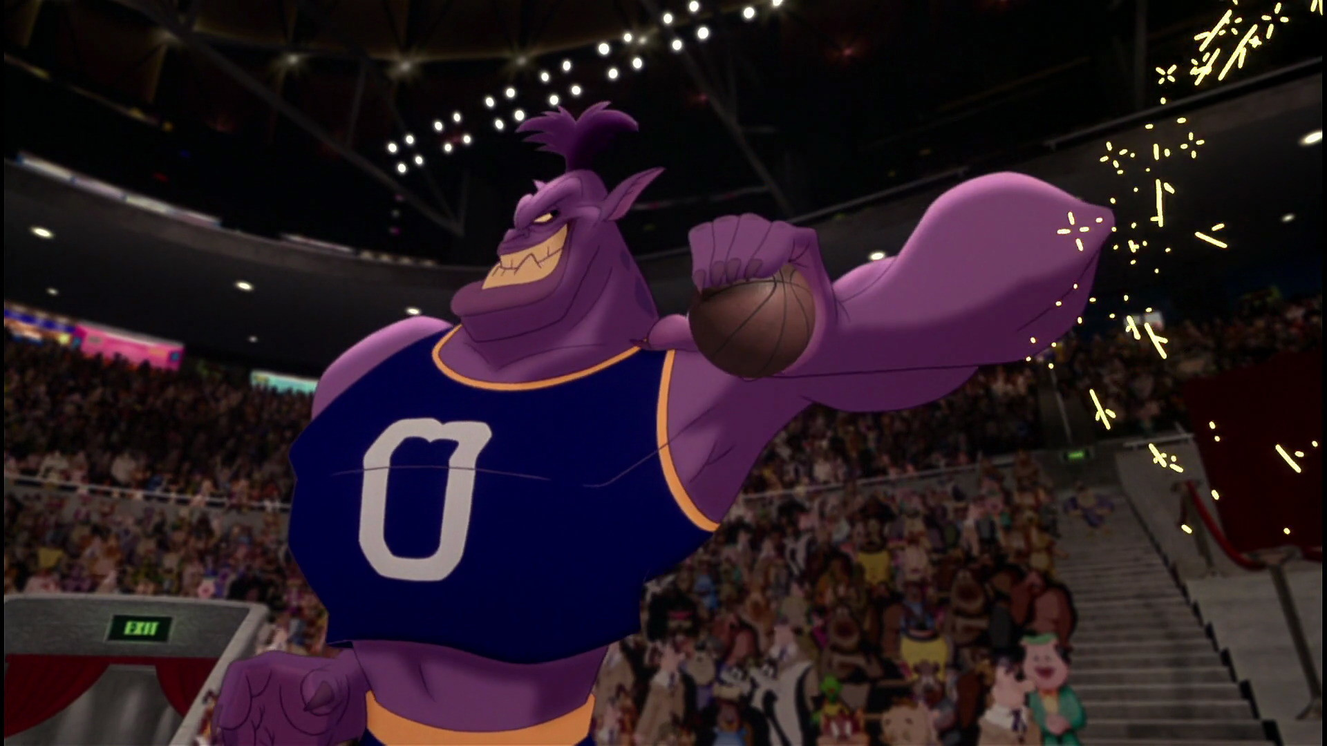 Bupkus, Bang, Bugs Bunny, Marvin Martian, Lola Bunny, Daffy Duck & many  more at the premiere of Space Jam. | Monstars Bupkus | Pinterest | Space jam,  …