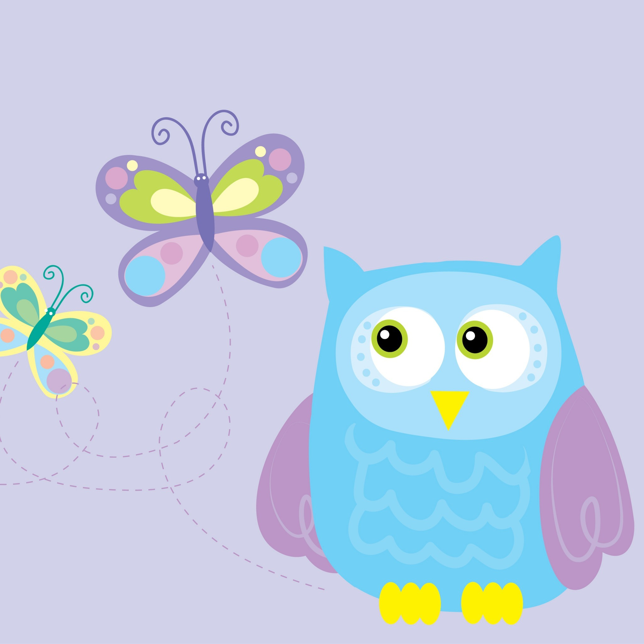Owl · Tiffany Owl – Tap to see more cute cartoon wallpaper!