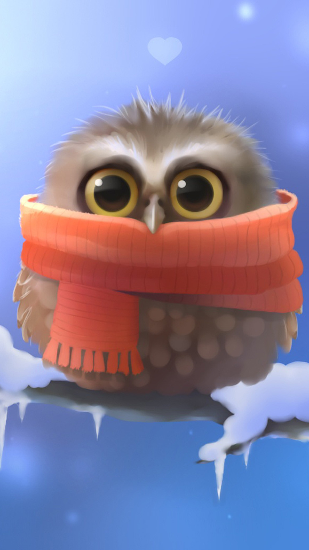 Cute owl Galaxy S5 Wallpapers