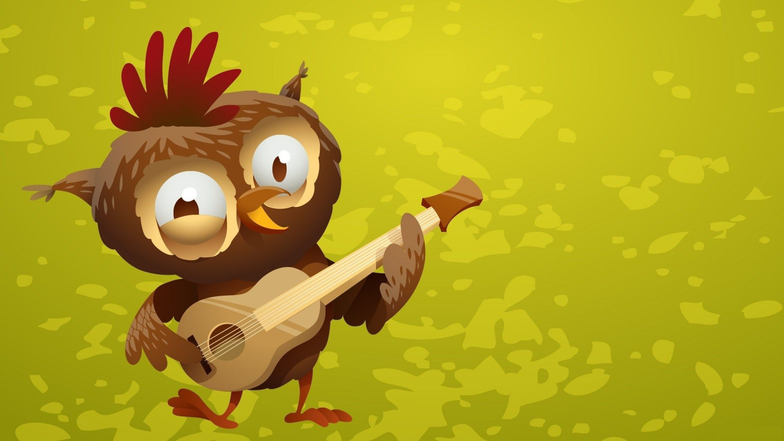wallpaper.wiki-Funny-Owl-Cartoon-Playing-Guitar-Background-