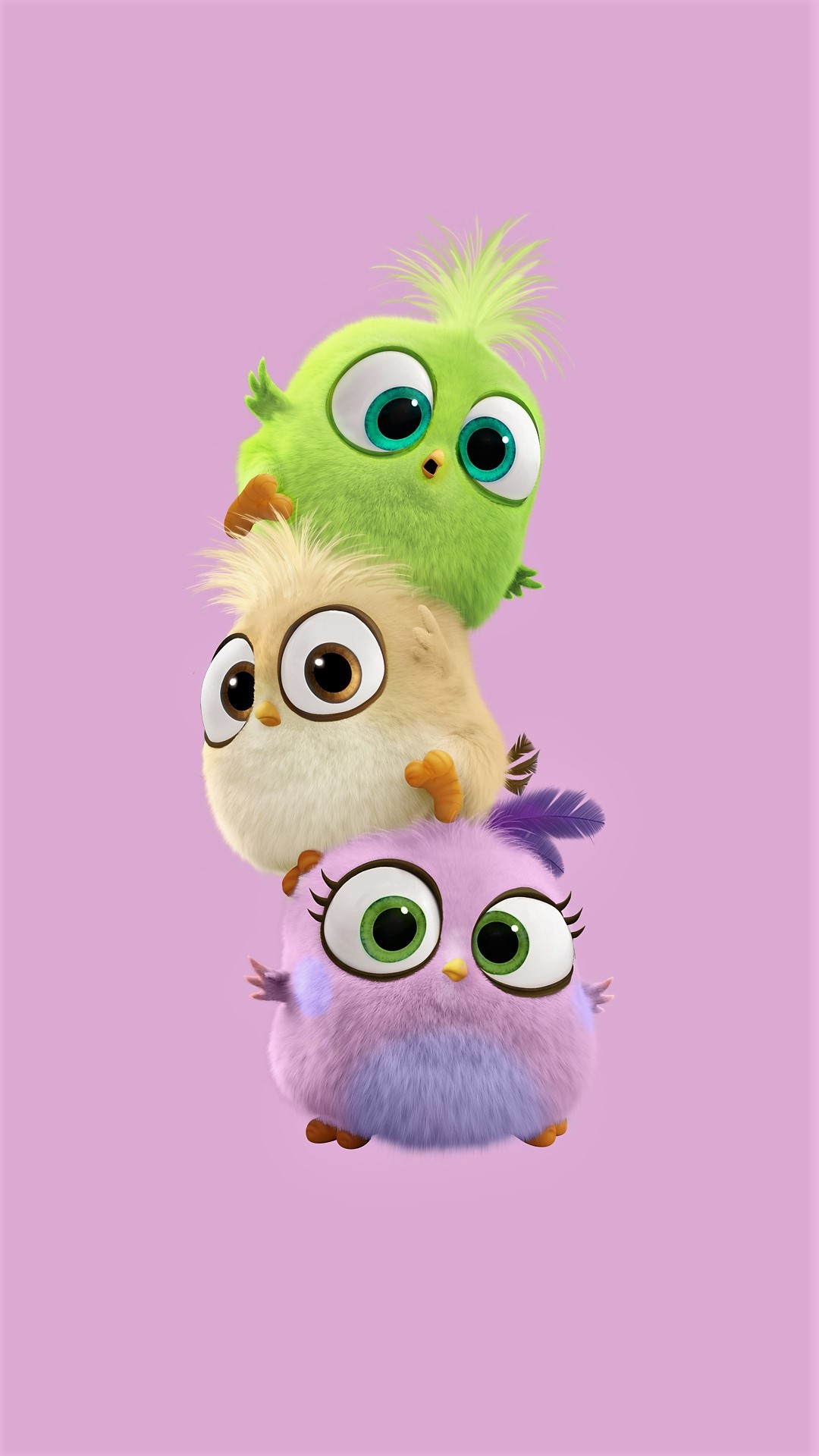 Baby Birds – Tap to see more cute cartoon wallpapers! – @mobile9