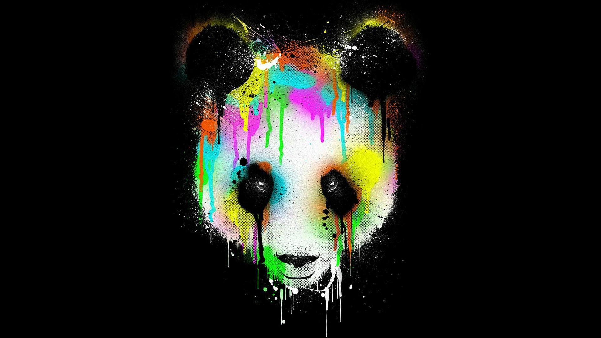 3D Panda Photo