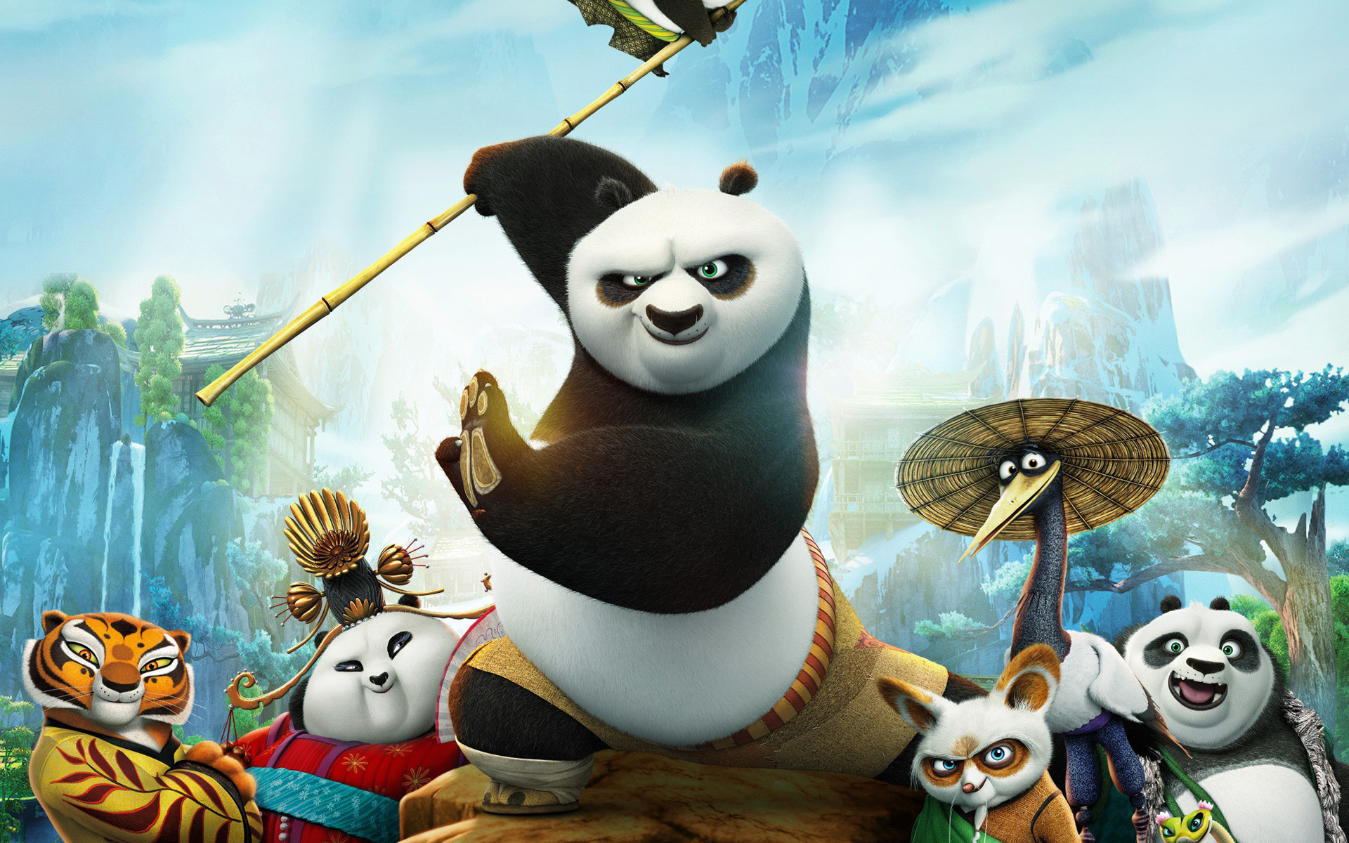 Kung Fu Panda Movie 2016 wallpaper