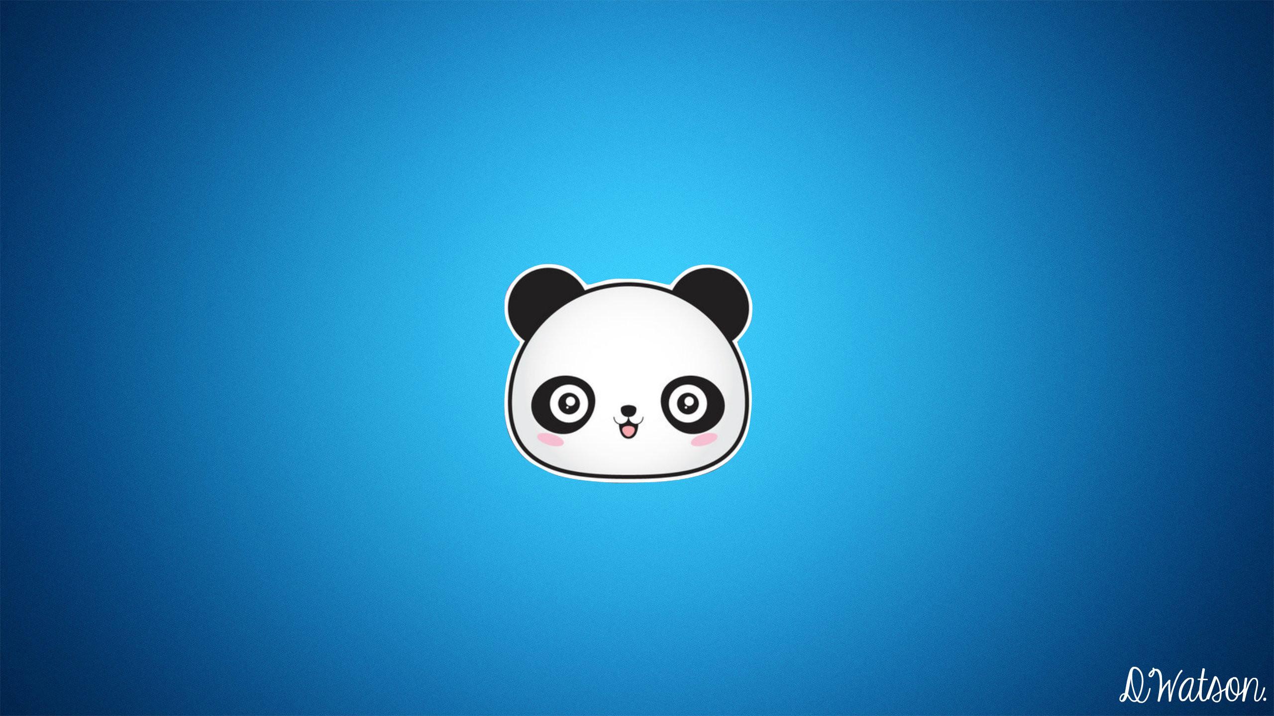 Cute Cartoon Panda Wallpaper WallpaperSafari