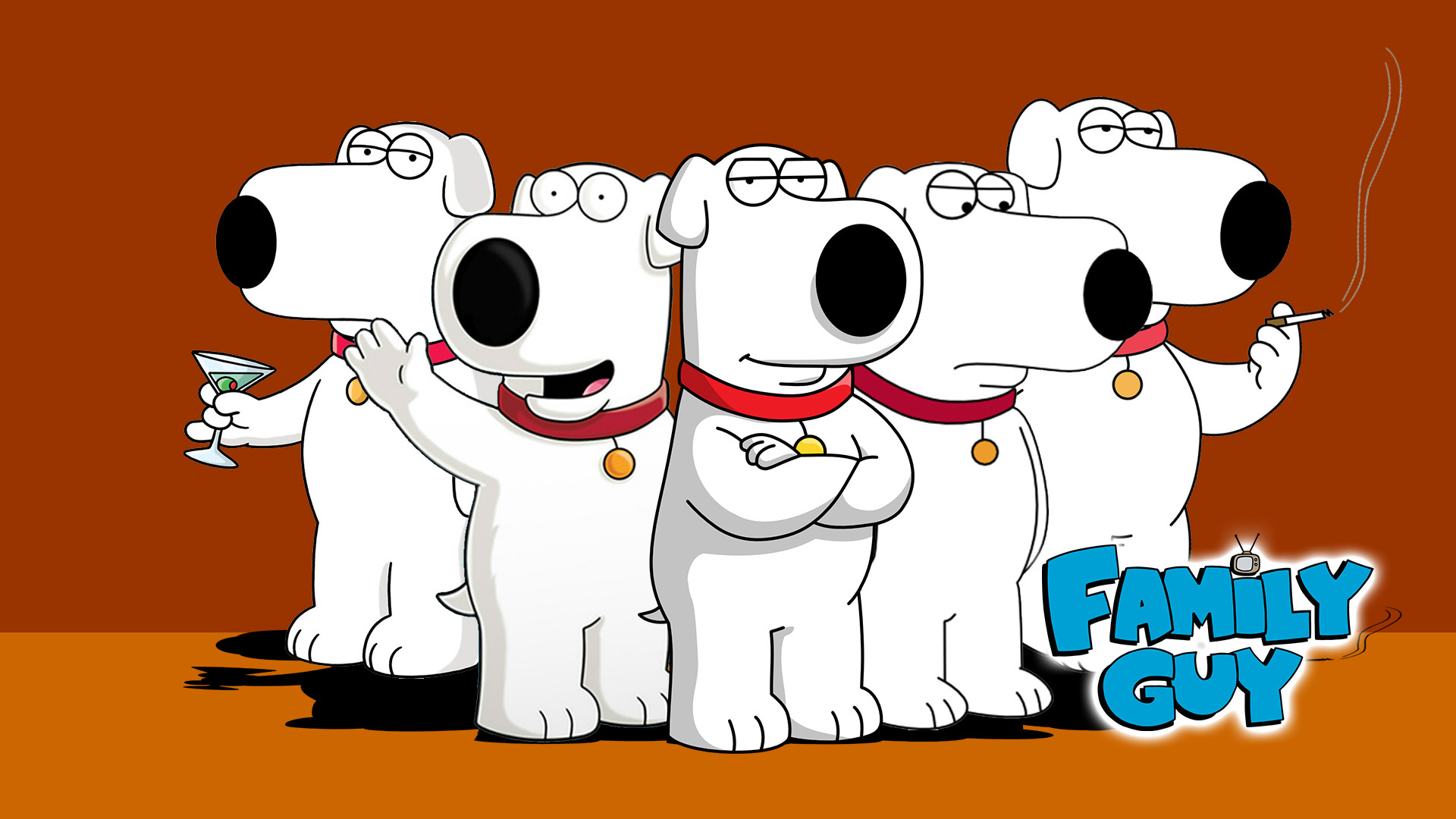 Brian griffin Family Guy Wallpaper HD #2548