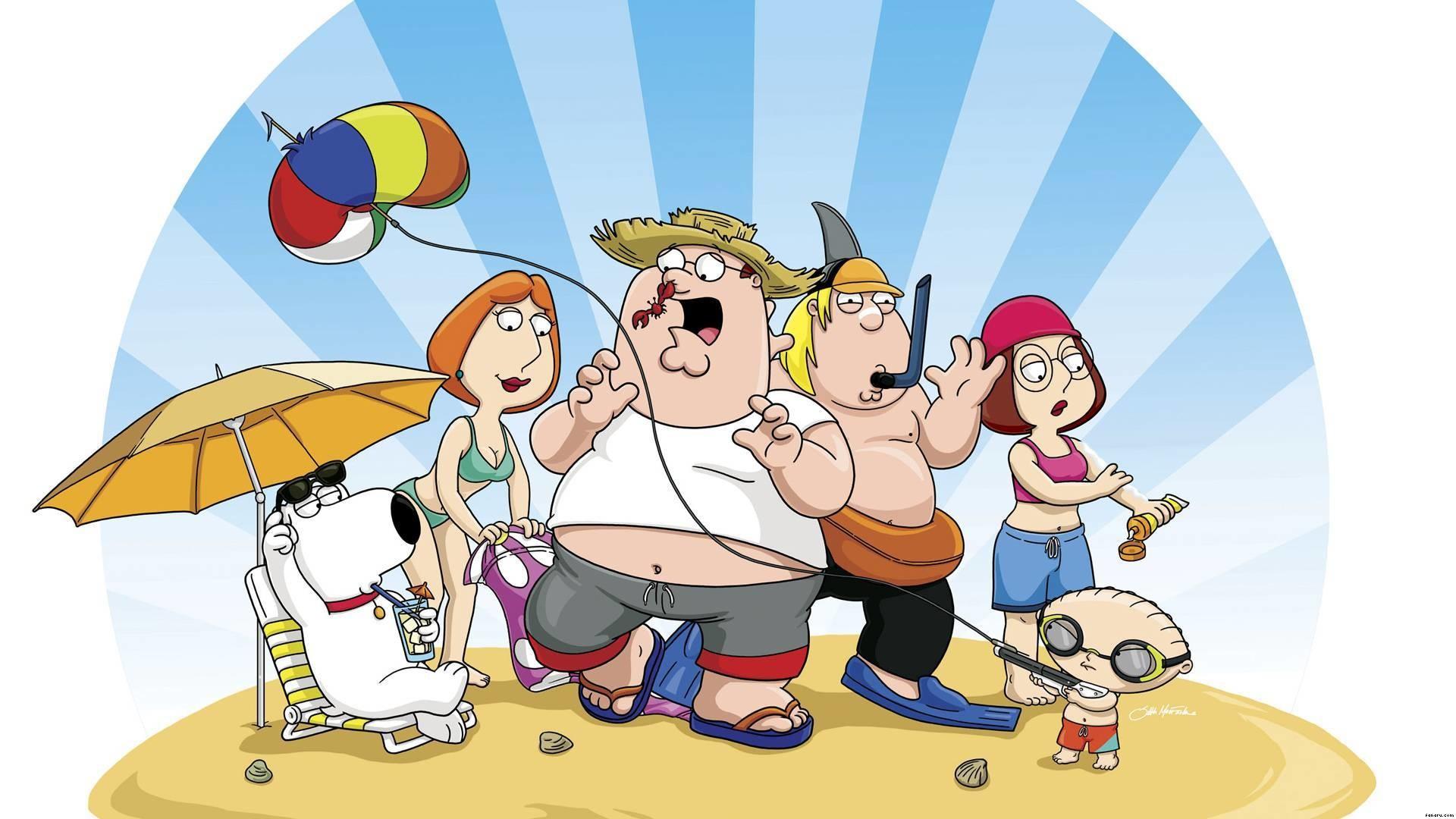 Family Guy vacation – Family Guy Wallpaper (1920×1080)