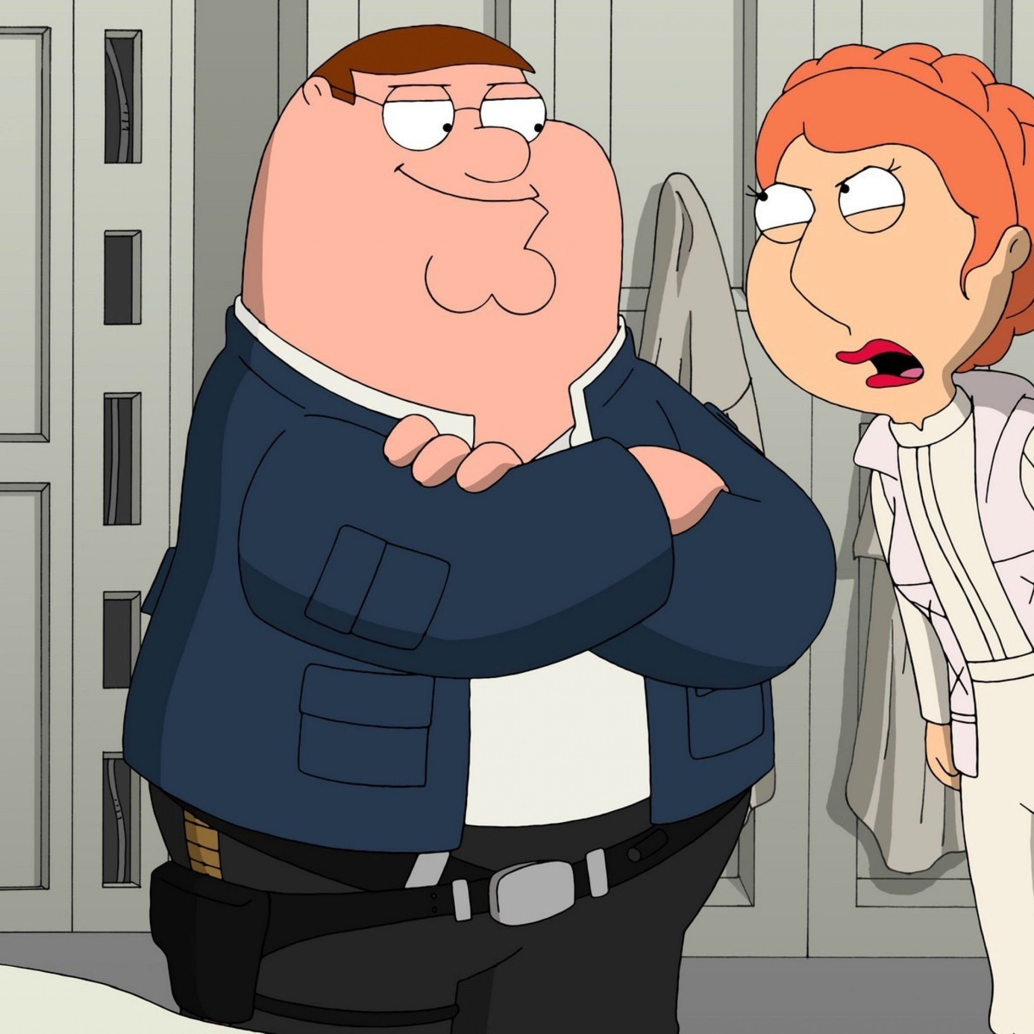 Preview wallpaper family guy, cartoon, heroes 2048×2048